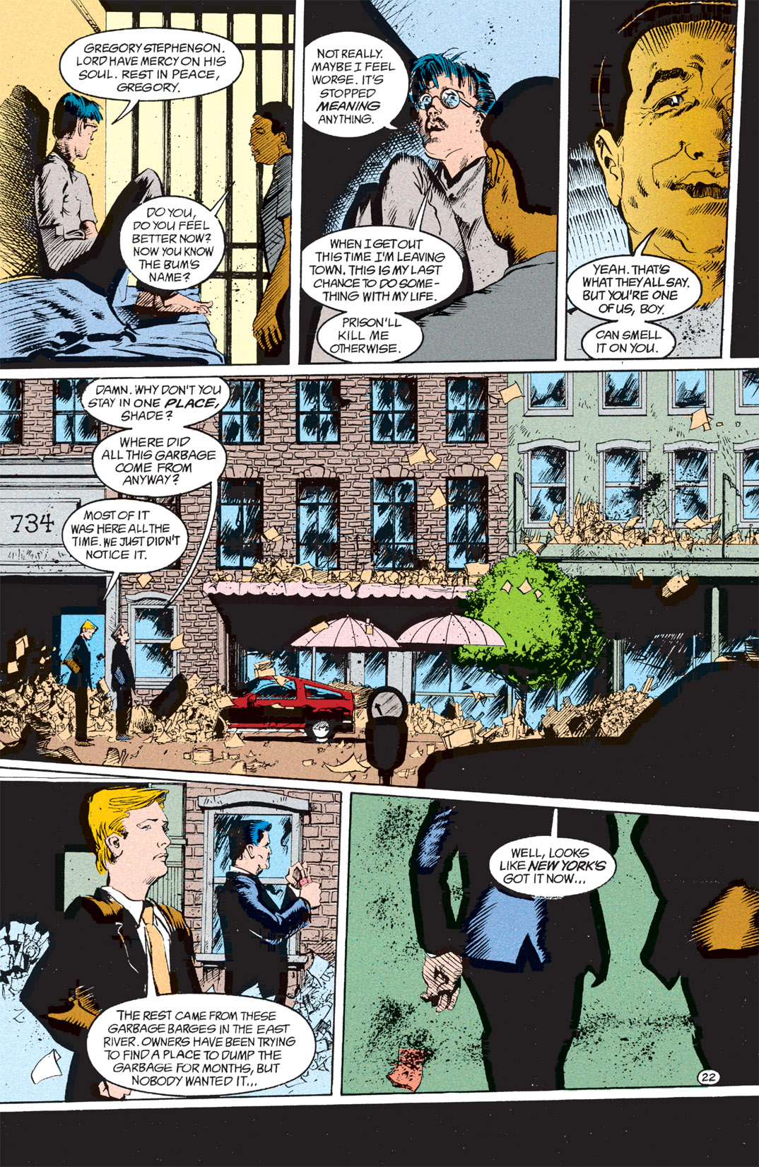 Read online Shade, the Changing Man comic -  Issue #7 - 23