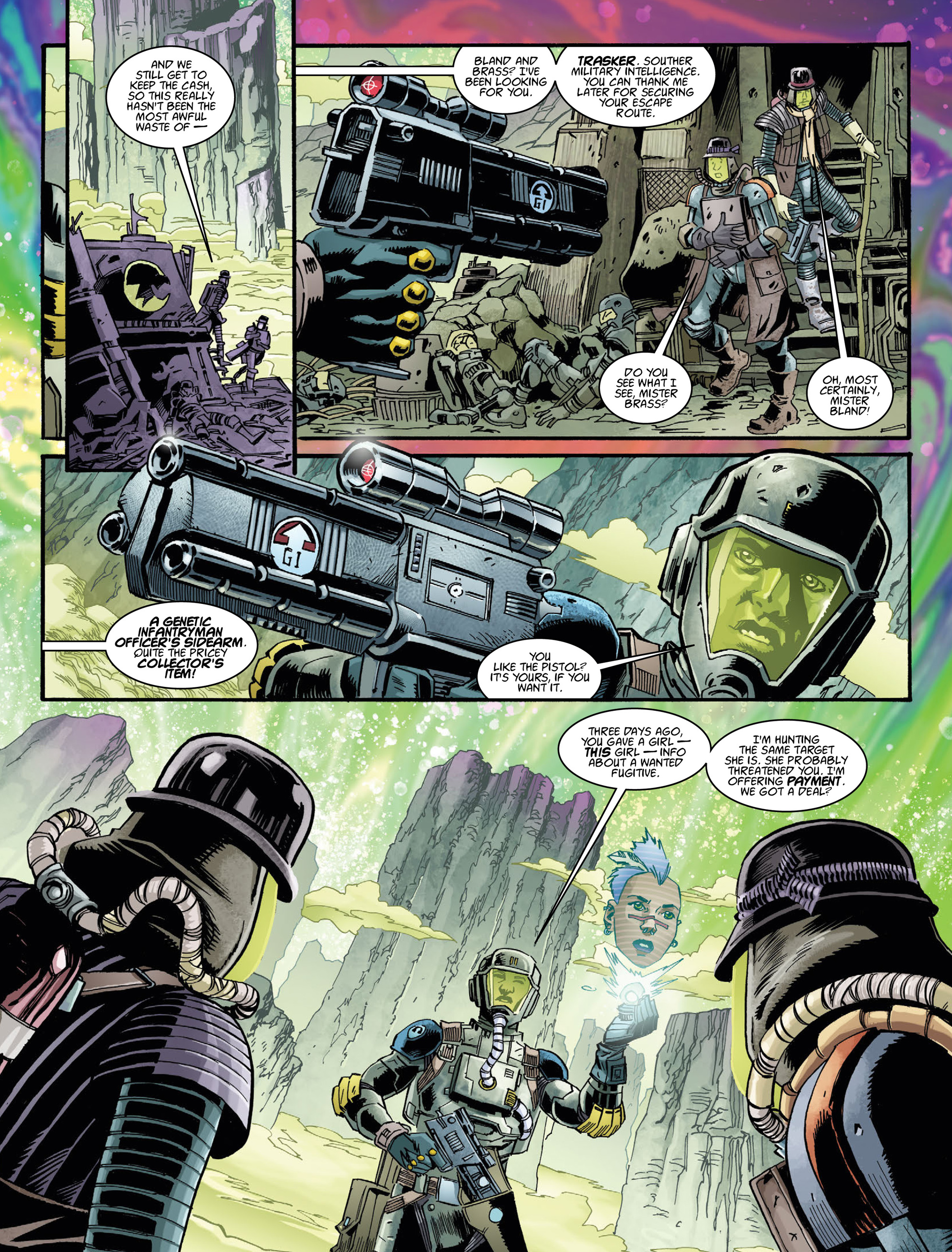 Read online 2000 AD comic -  Issue #2035 - 27
