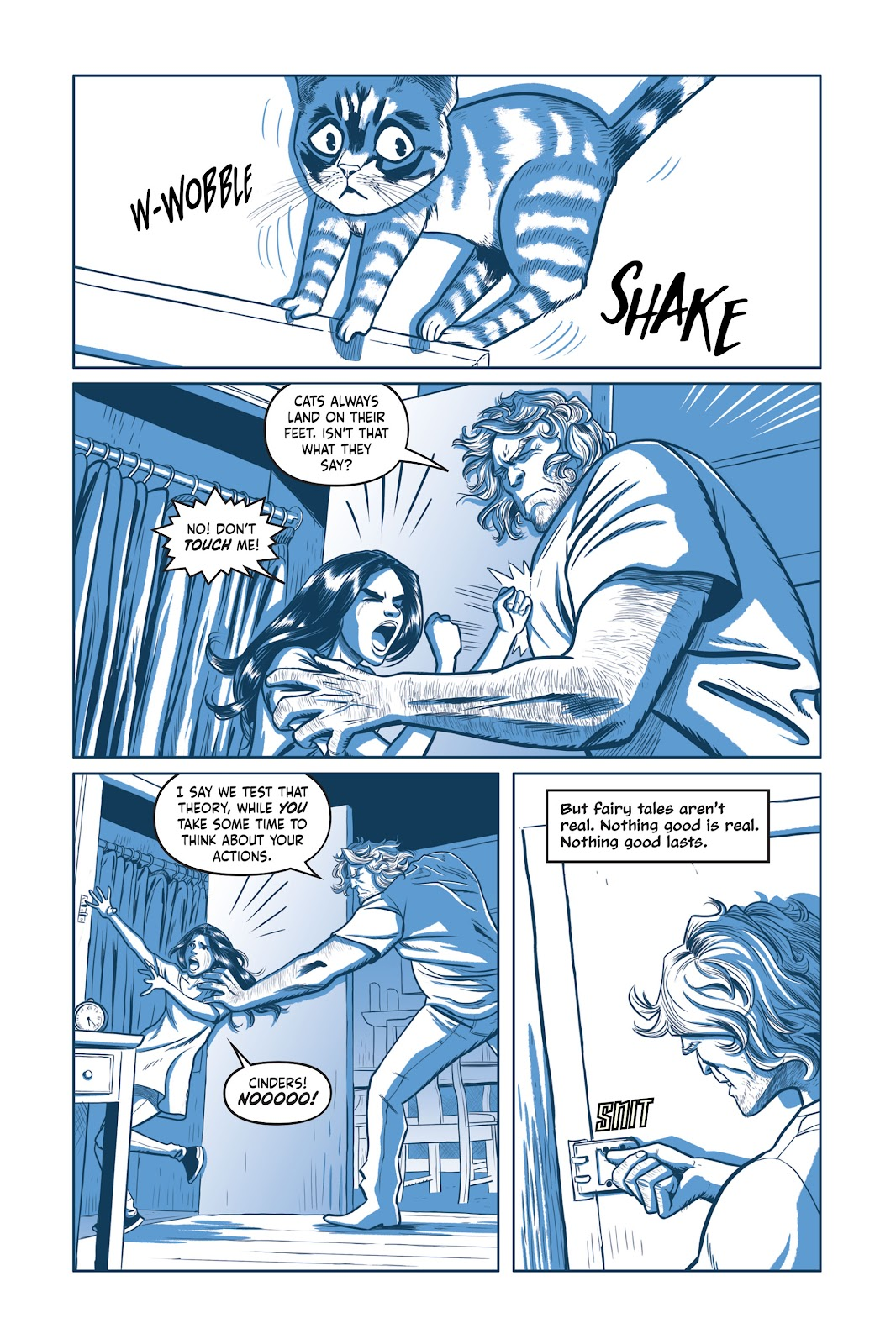 Read online Under the Moon: A Catwoman Tale comic -  Issue # TPB (Part 1) - 60