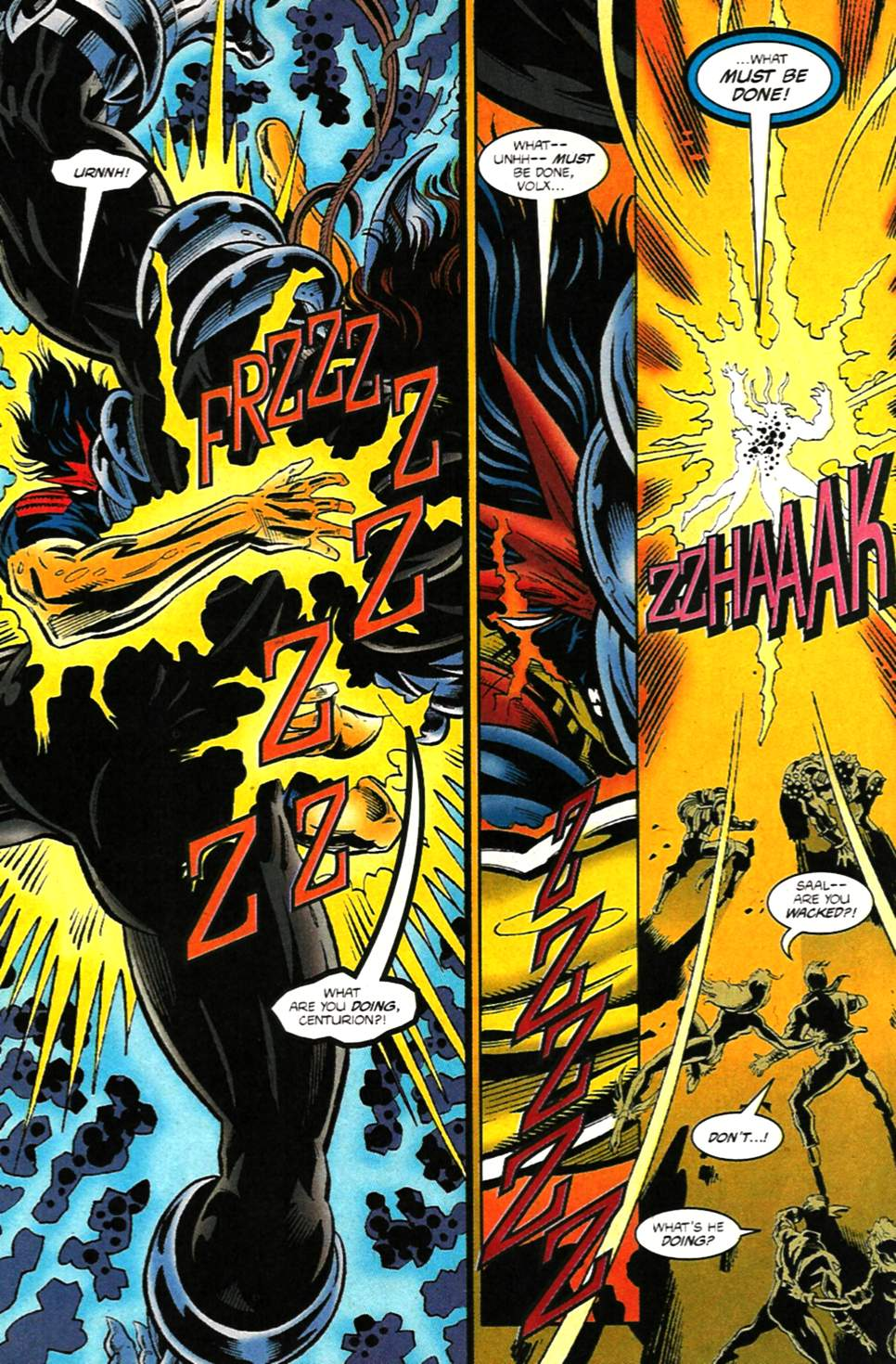 The New Warriors Issue #75 #79 - English 29