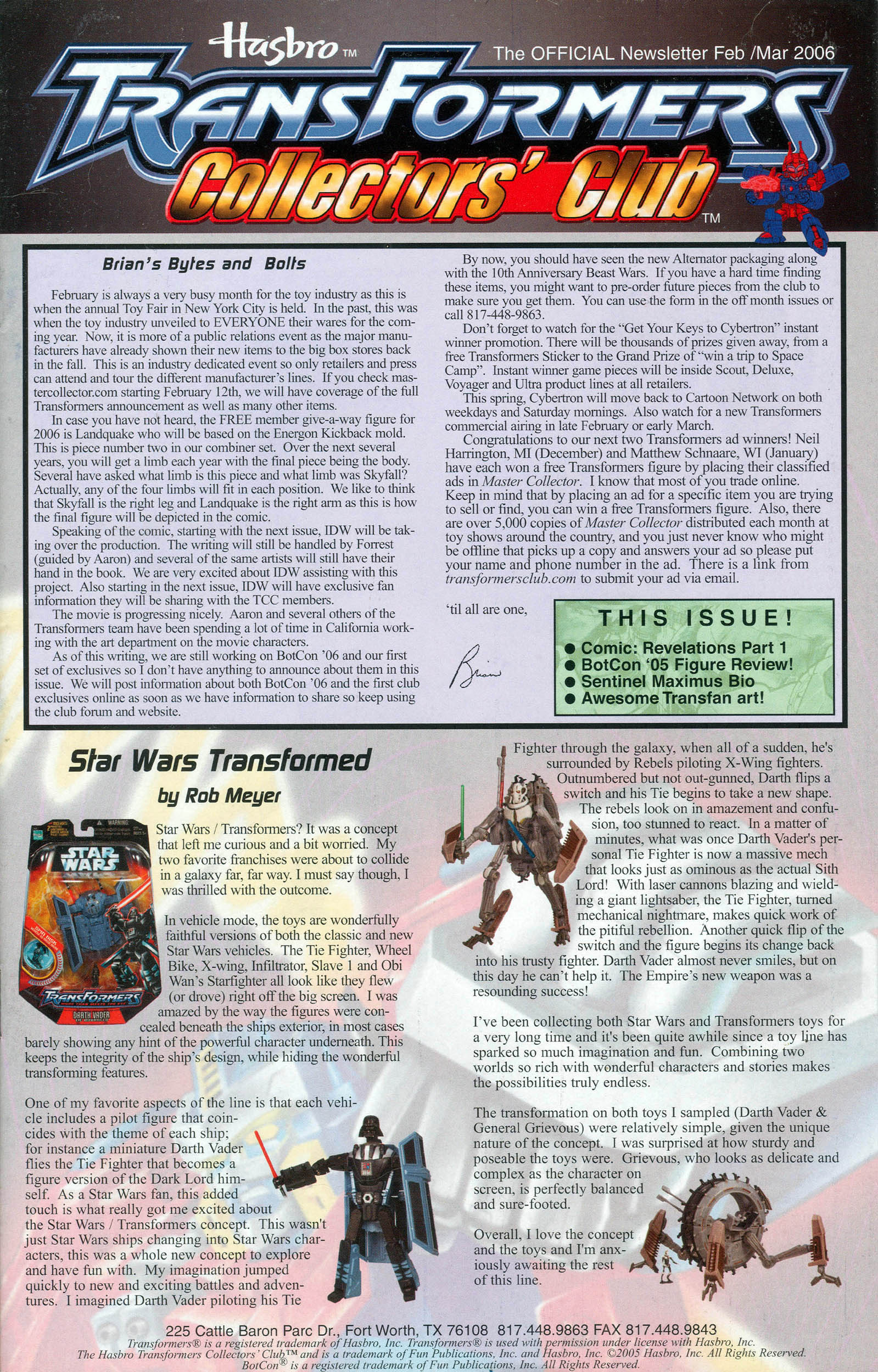 Read online Transformers: Collectors' Club comic -  Issue #7 - 1