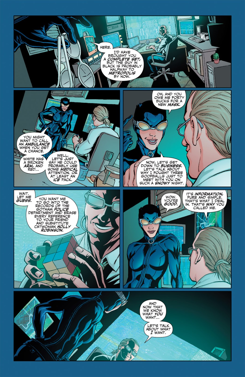 Catwoman (2002) Issue #63 #63 - English 21