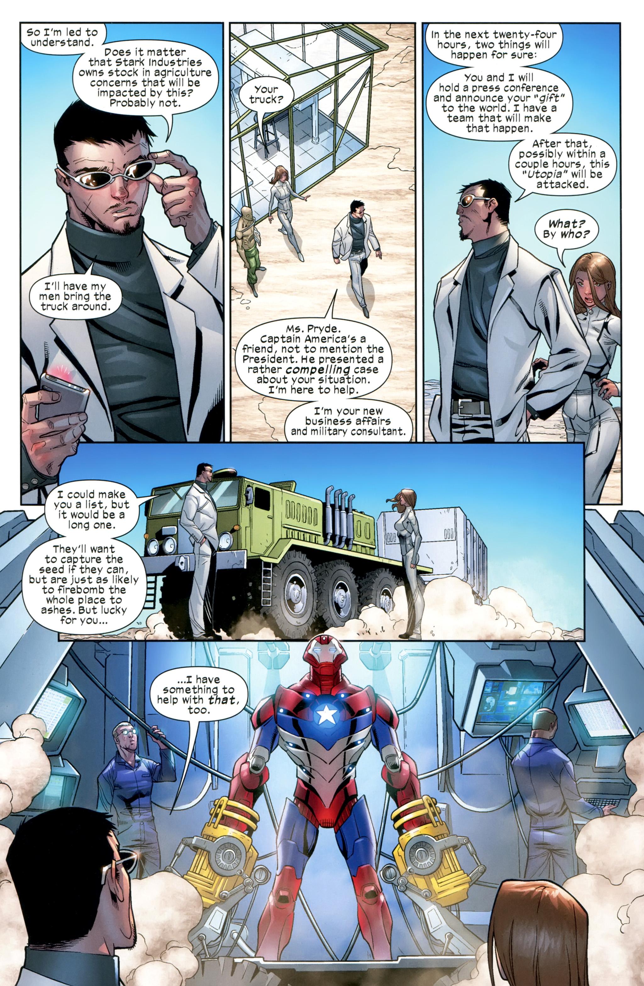 Read online Ultimate Comics X-Men comic -  Issue #20 - 19