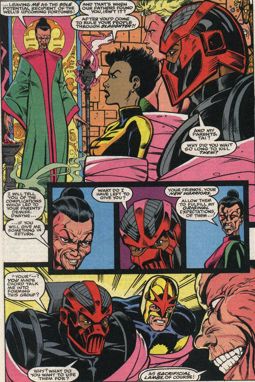 The New Warriors Issue #24 #28 - English 19