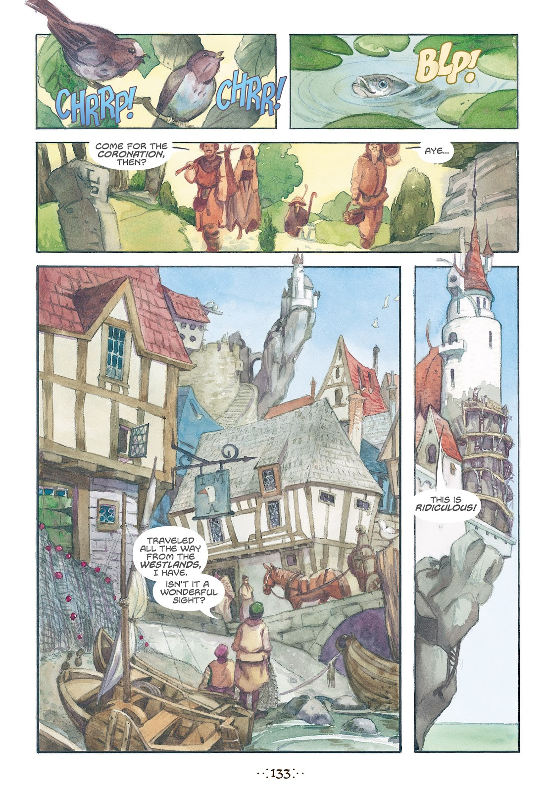 Read online The Wizard's Tale comic -  Issue # TPB - 126