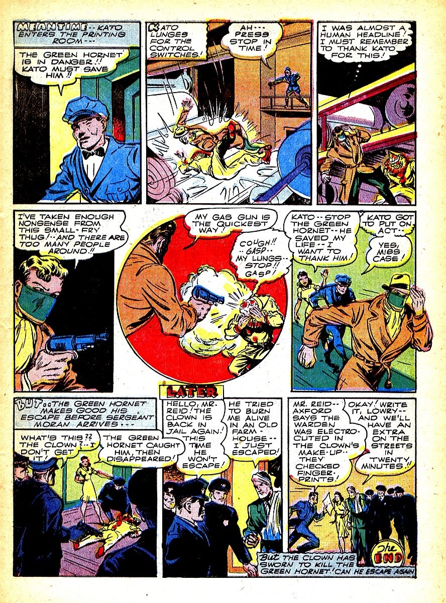 Green Hornet Comics issue 7 - Page 11