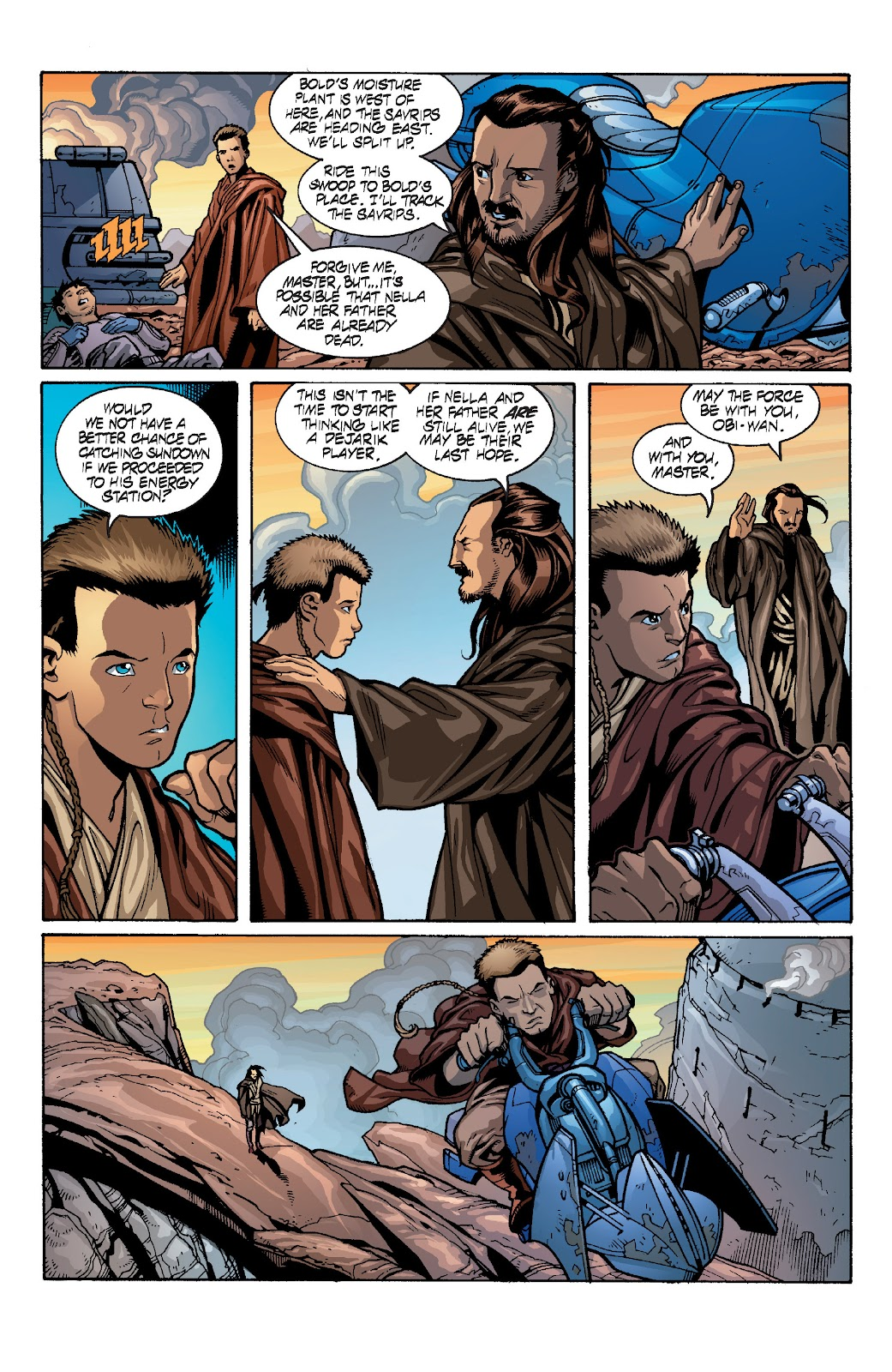 Read online Star Wars Legends: Rise of the Sith - Epic Collection comic -  Issue # TPB 1 (Part 4) - 24