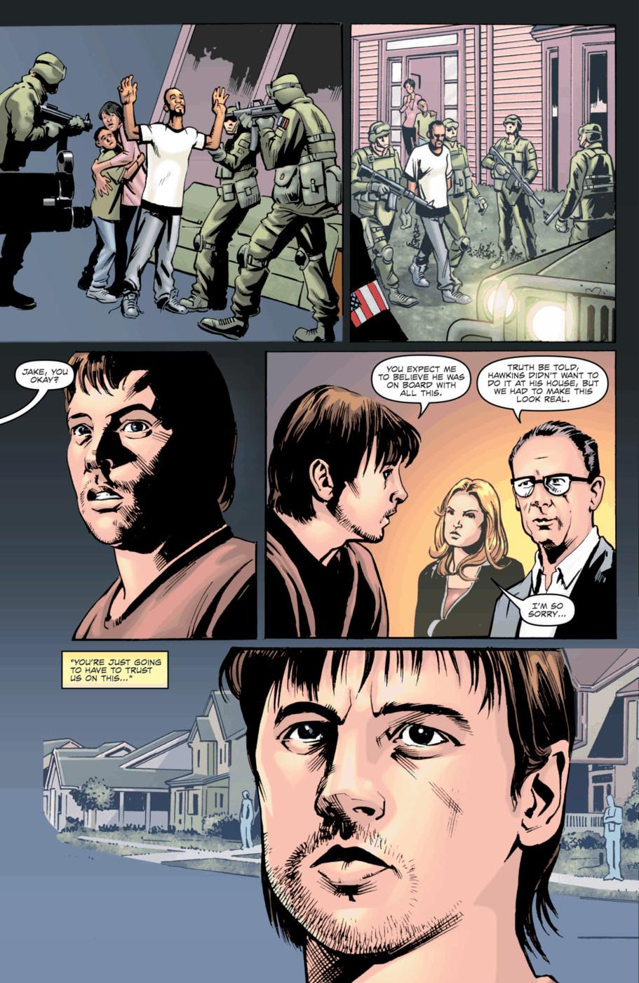 Read online Jericho Season 4 comic -  Issue #2 - 17
