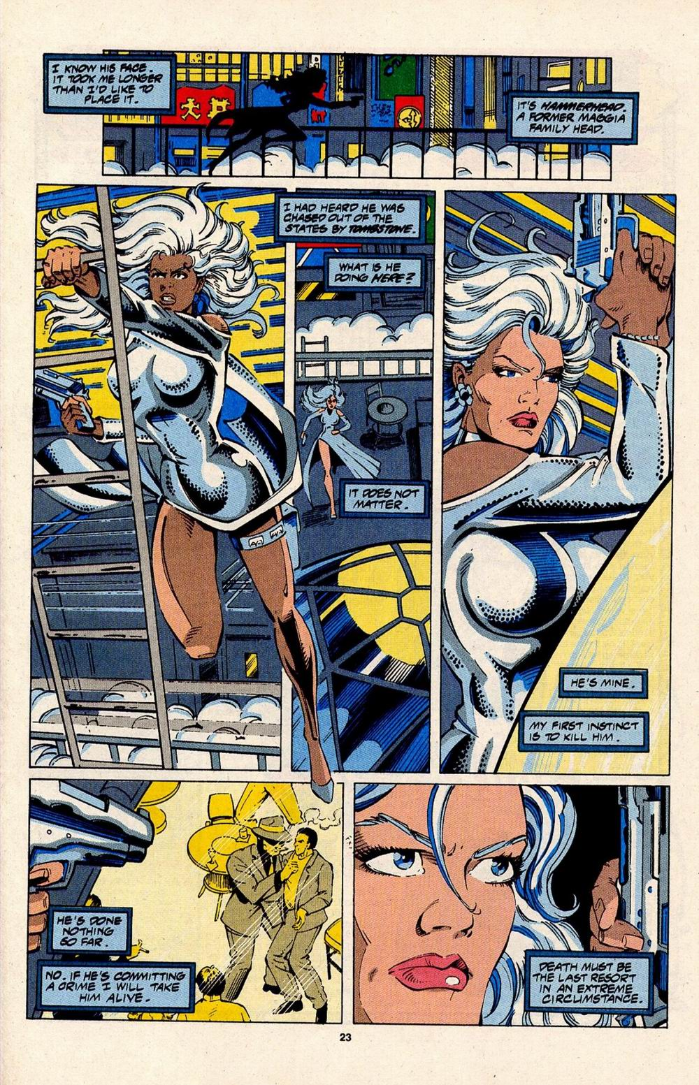 Read online Silver Sable and the Wild Pack comic -  Issue #31 - 19