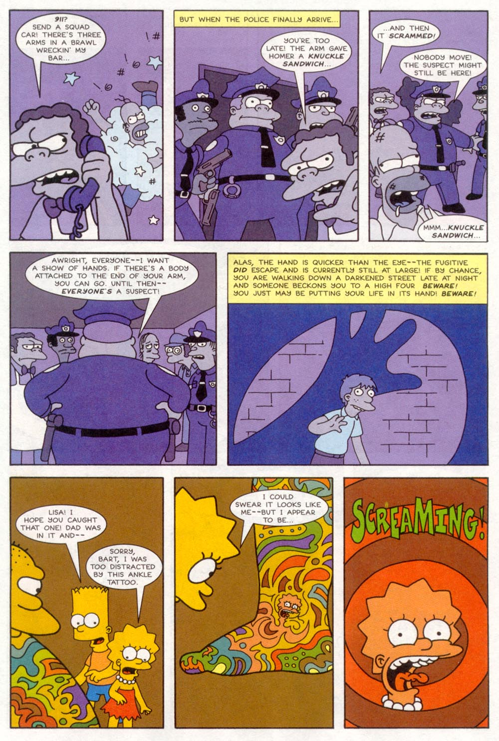 Read online Treehouse of Horror comic -  Issue #4 - 21