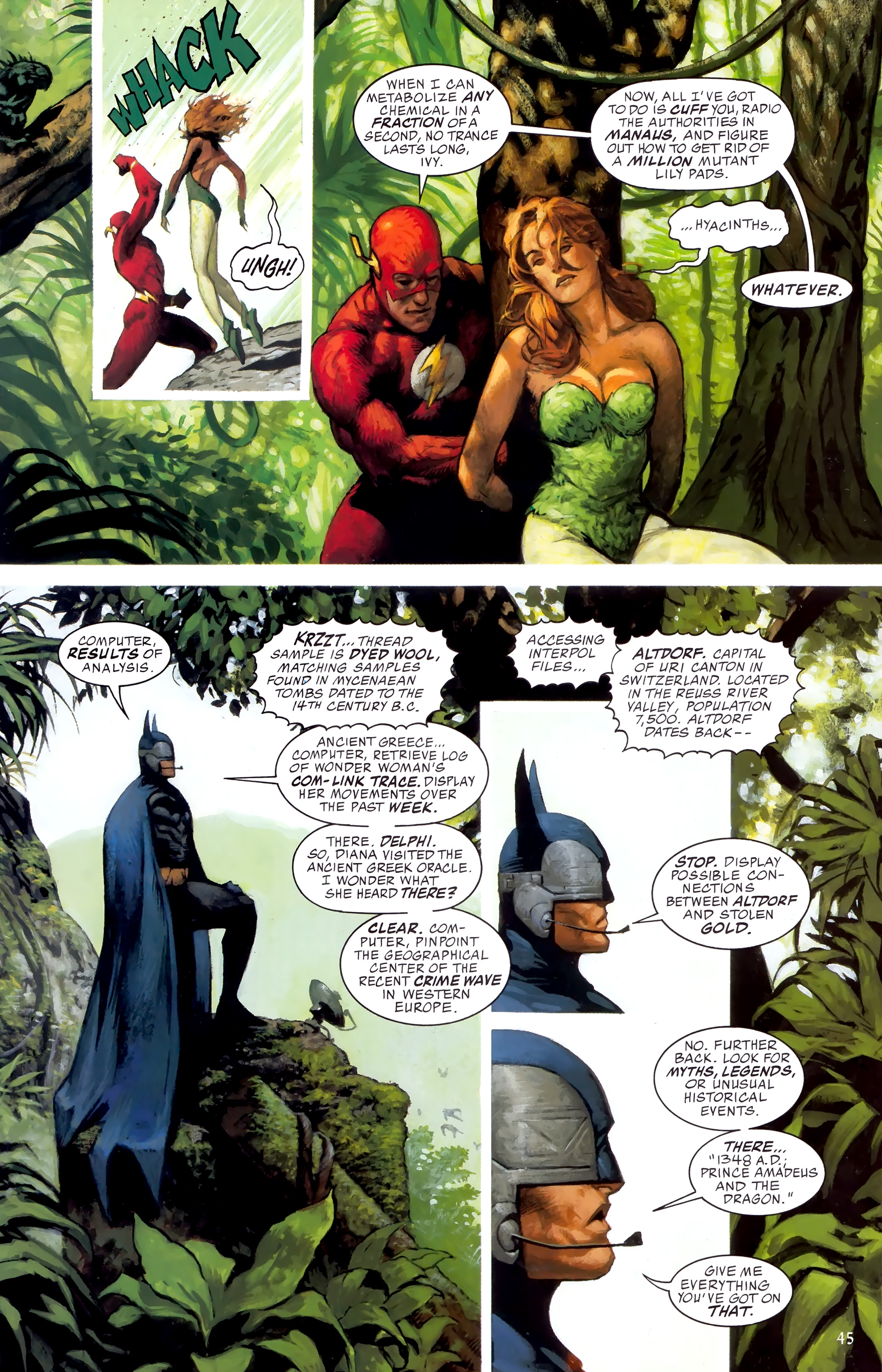 Read online JLA: A League of One comic -  Issue # Full - 52