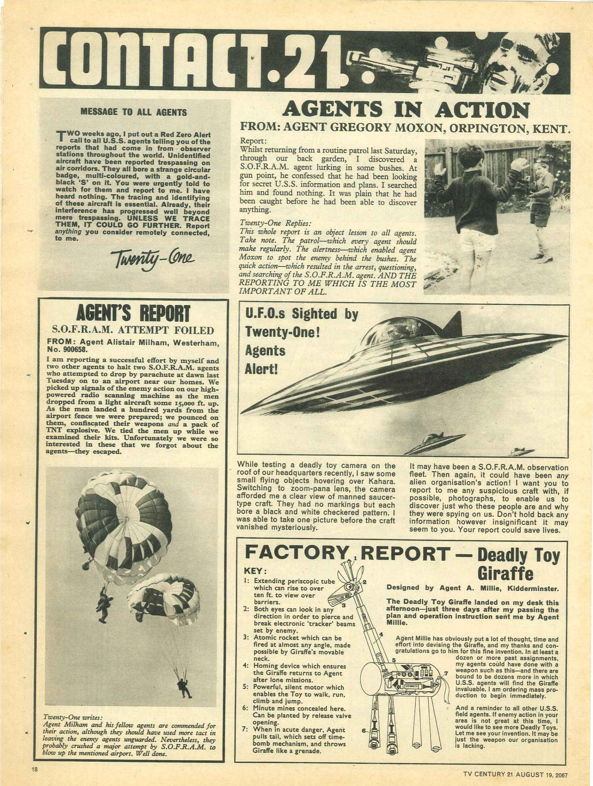 Read online TV Century 21 (TV 21) comic -  Issue #135 - 17