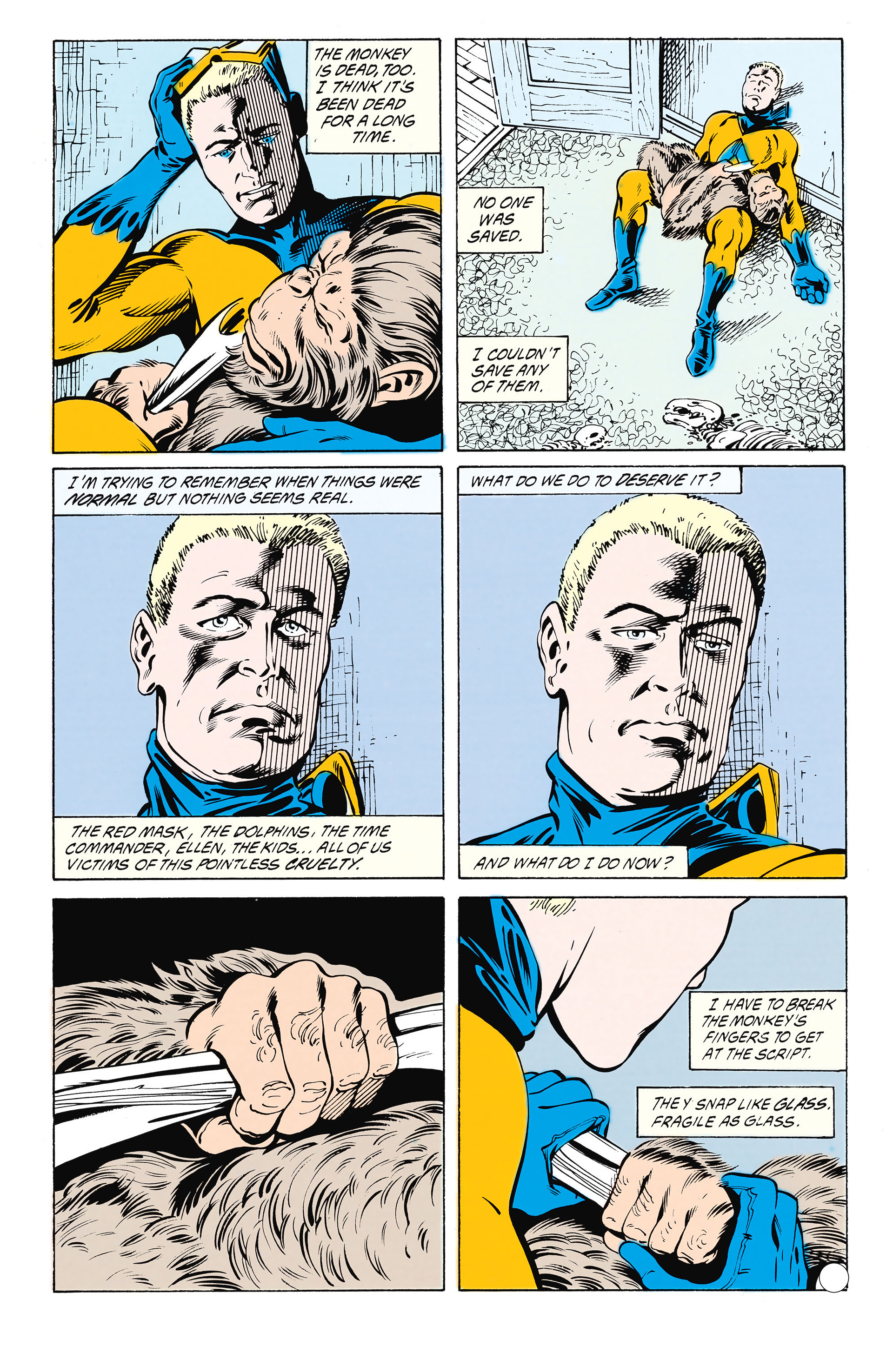 Read online Animal Man (1988) comic -  Issue #25 - 21