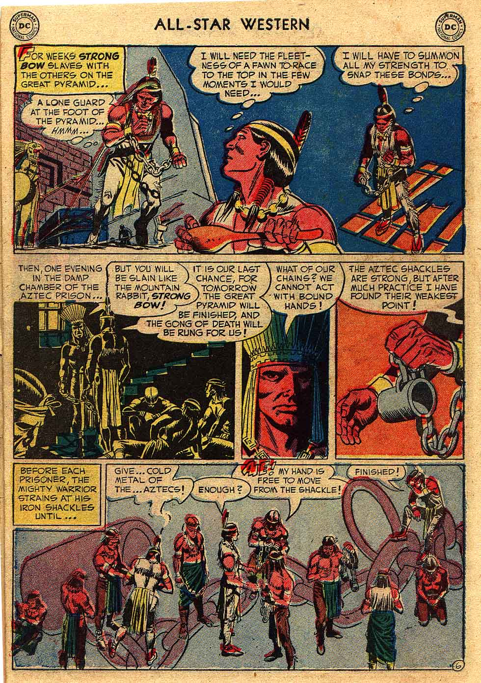 Read online All-Star Western (1951) comic -  Issue #62 - 8