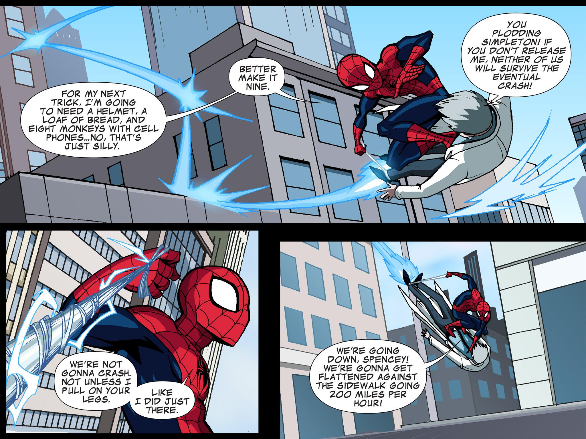 Read online Ultimate Spider-Man (Infinite Comics) (2015) comic -  Issue #5 - 33