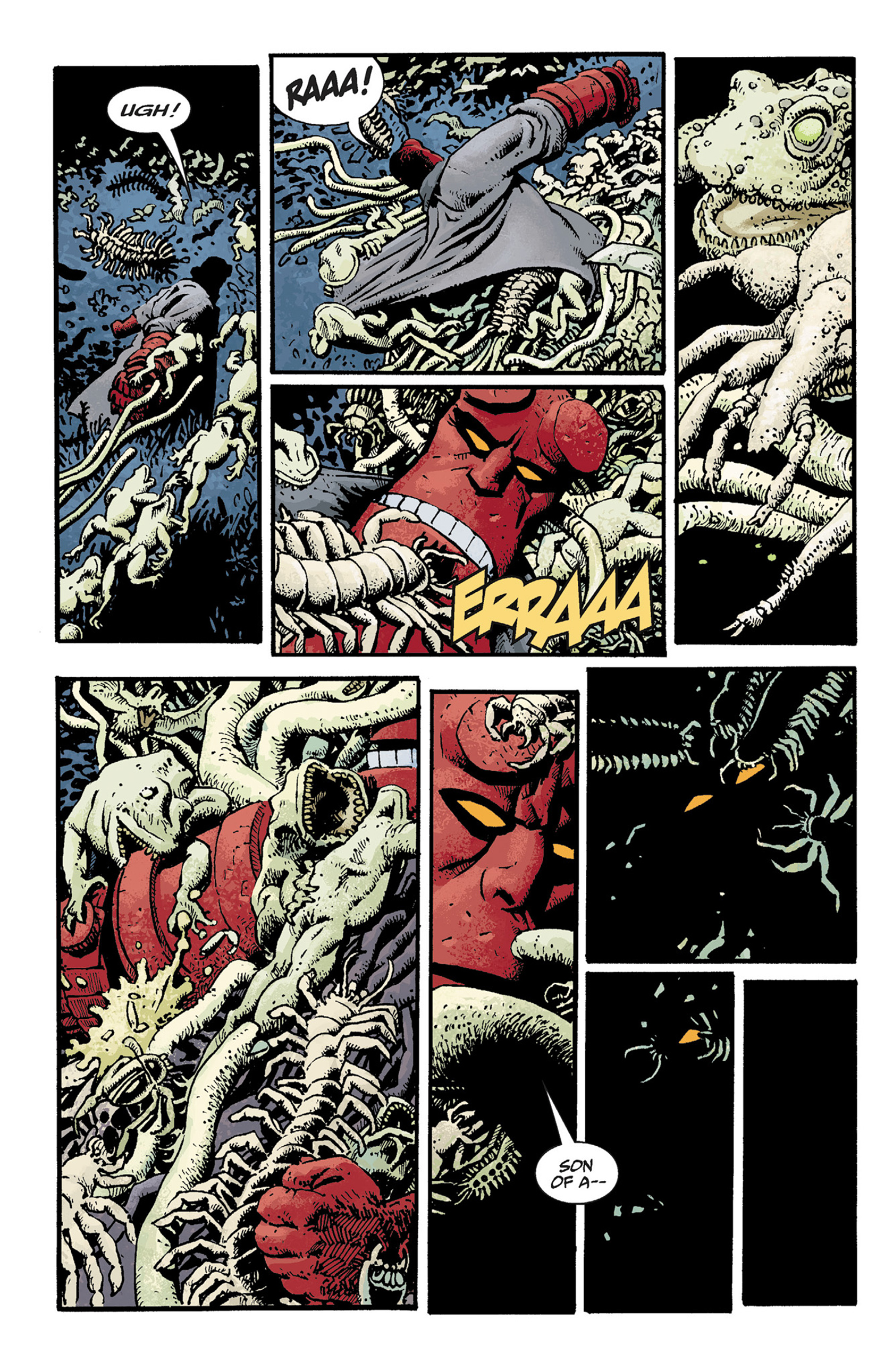 Read online Hellboy: The Crooked Man and Others comic -  Issue # TPB - 44