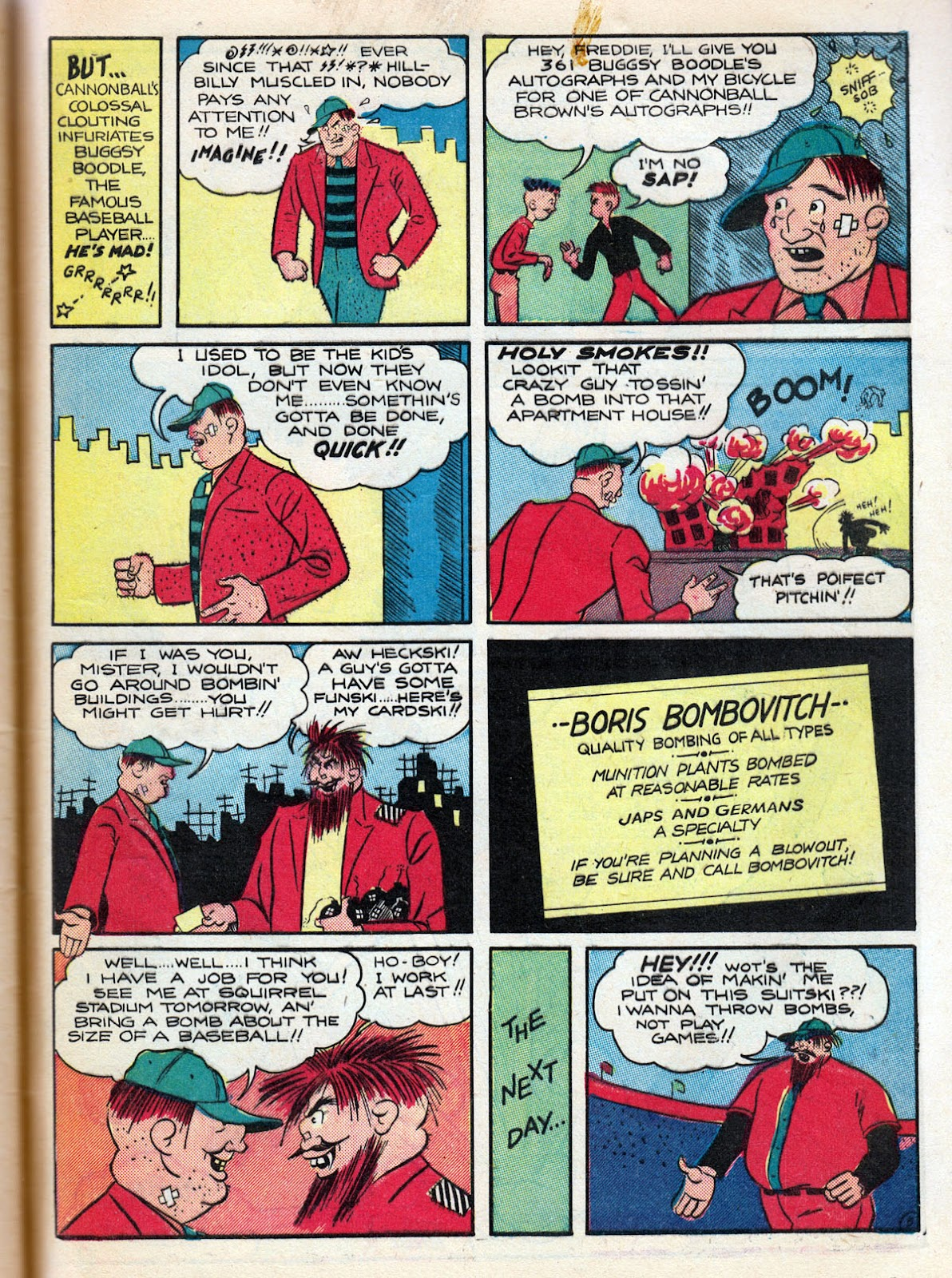 Read online Comedy Comics (1942) comic -  Issue #10 - 65