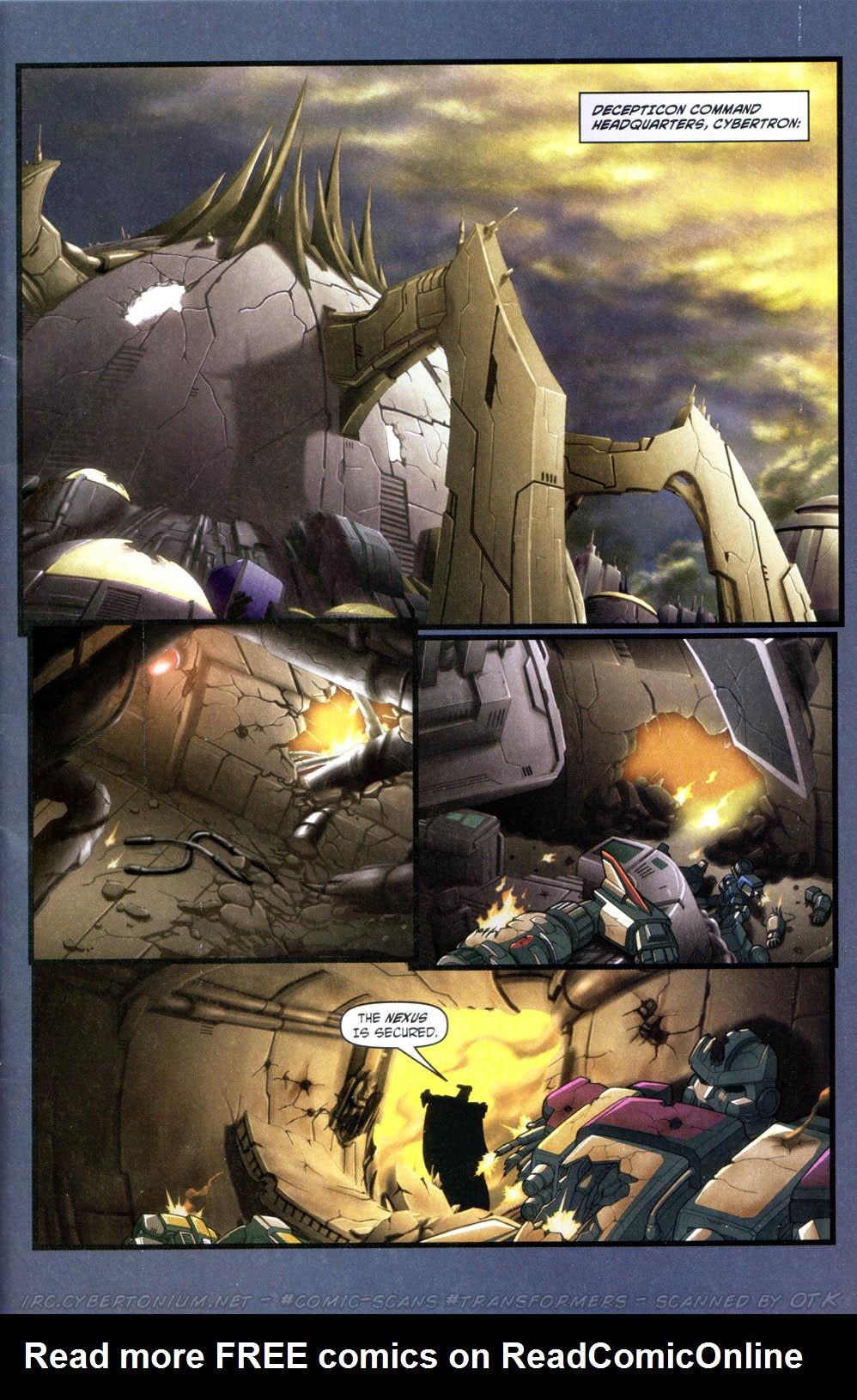 Read online Transformers Armada comic -  Issue #15 - 3