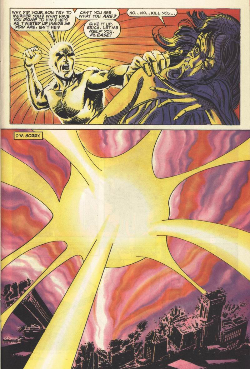 Read online Solar, Man of the Atom comic -  Issue #13 - 24