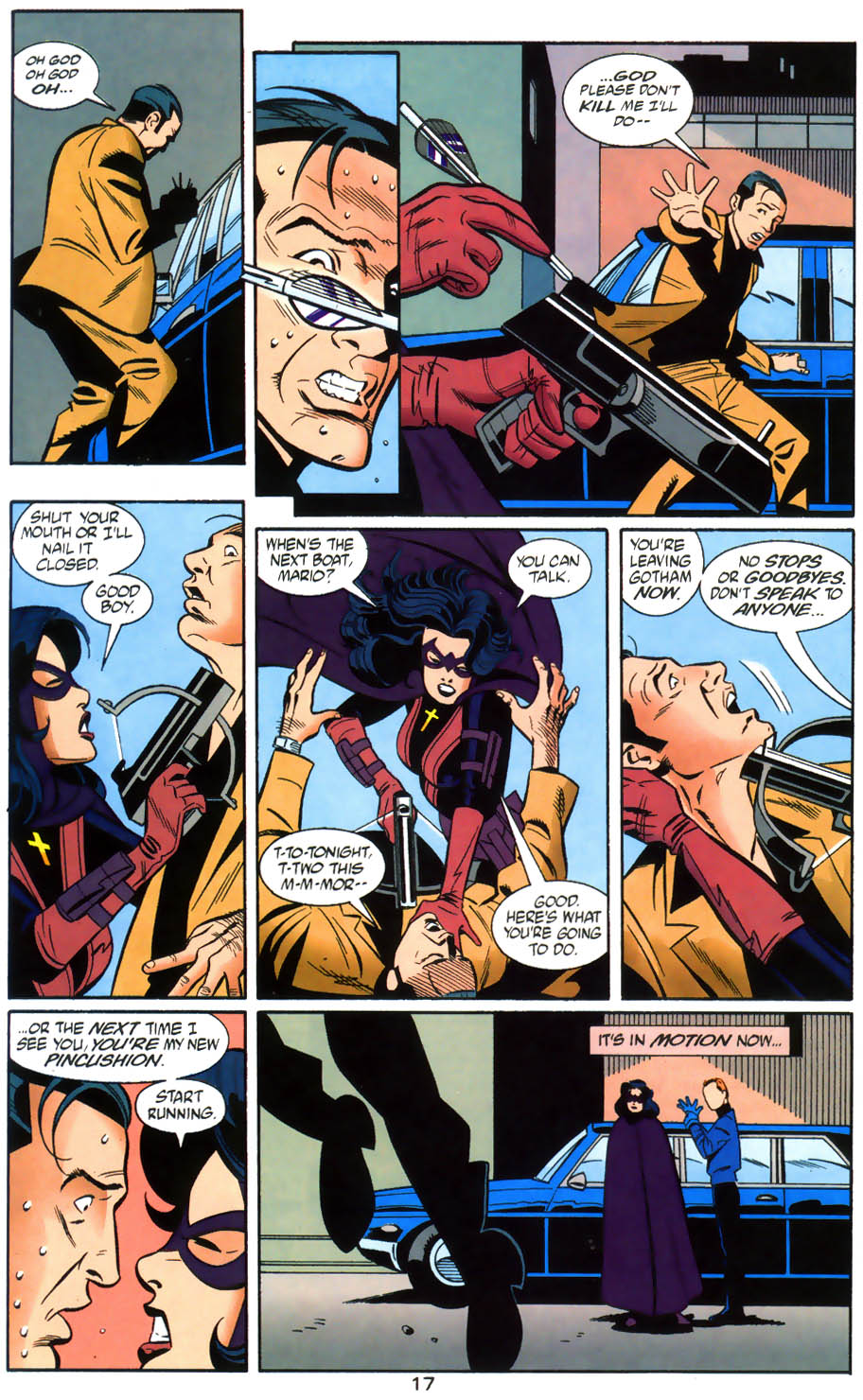 Read online Batman/Huntress: Cry for Blood comic -  Issue #6 - 17
