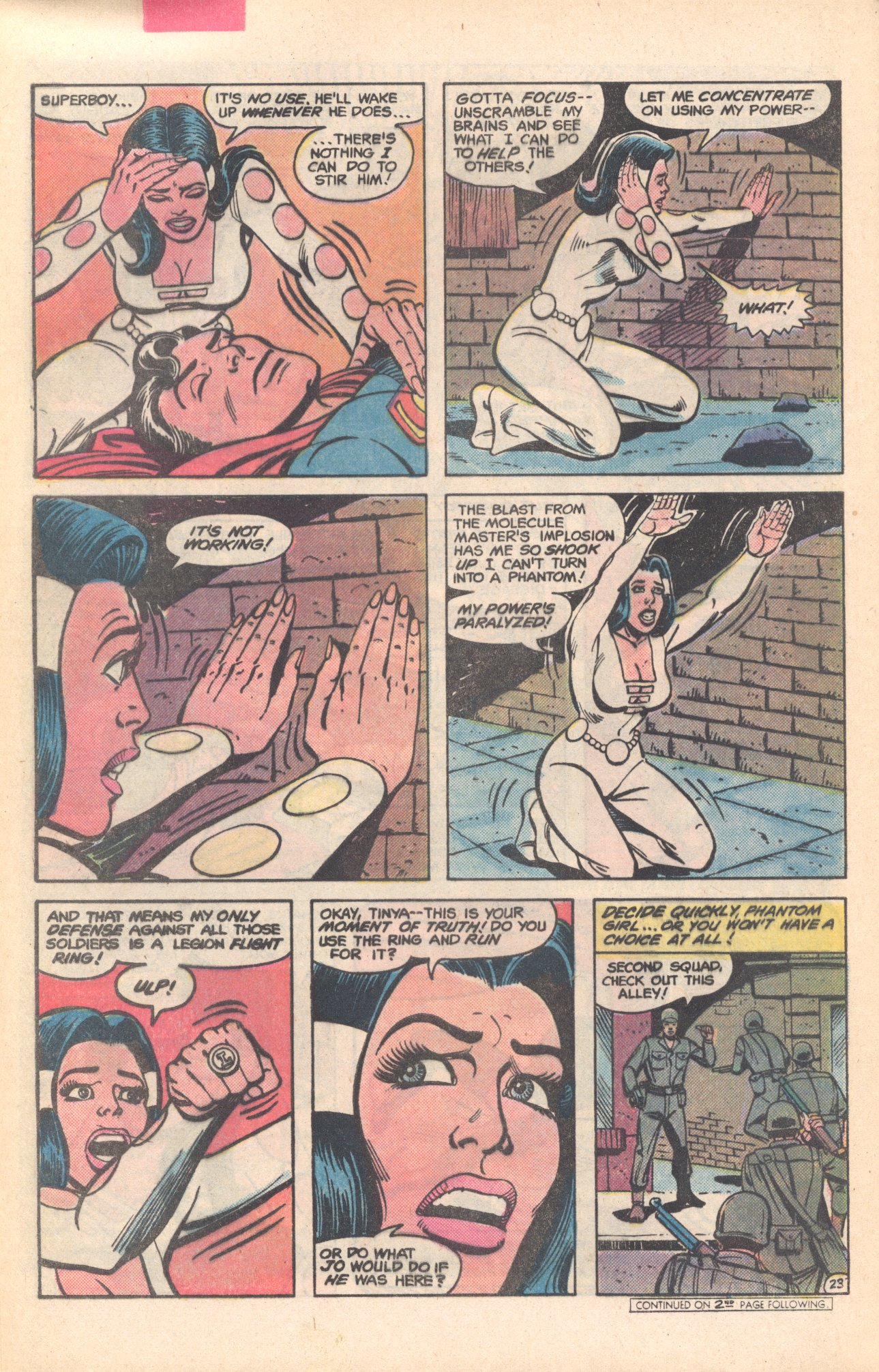 Legion of Super-Heroes (1980) 281 Page 23