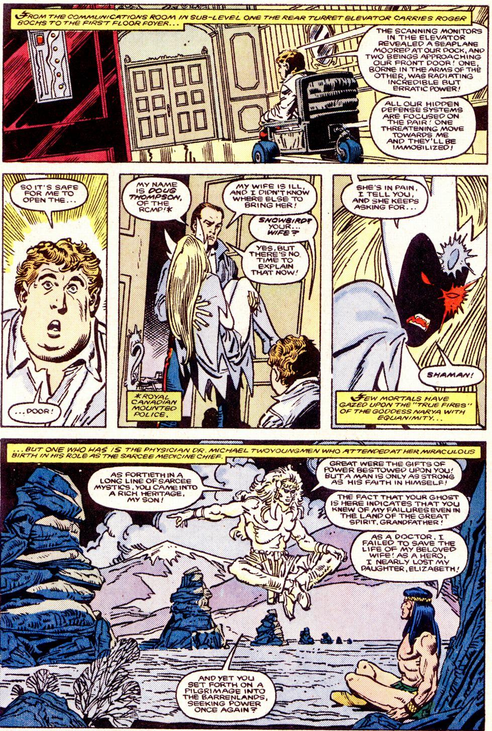 Read online Alpha Flight (1983) comic -  Issue #34 - 5