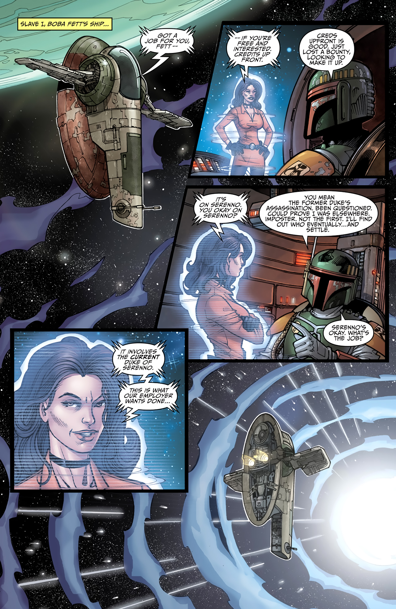 Read online Star Wars: Agent Of The Empire - Hard Targets comic -  Issue #4 - 8