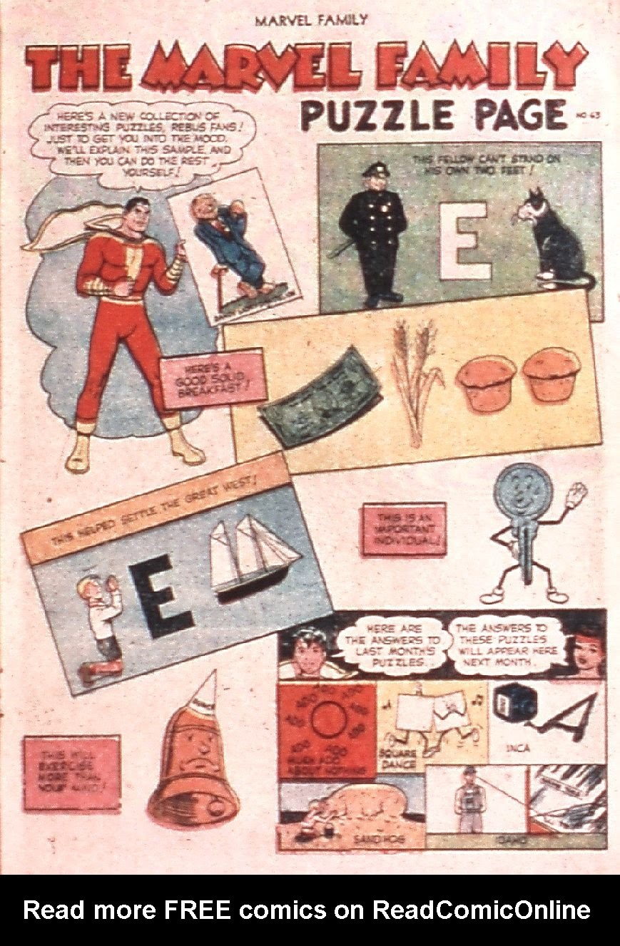 The Marvel Family issue 83 - Page 17