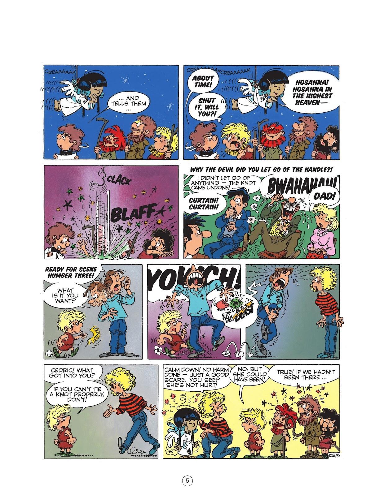 Read online Cedric comic -  Issue #6 - 7
