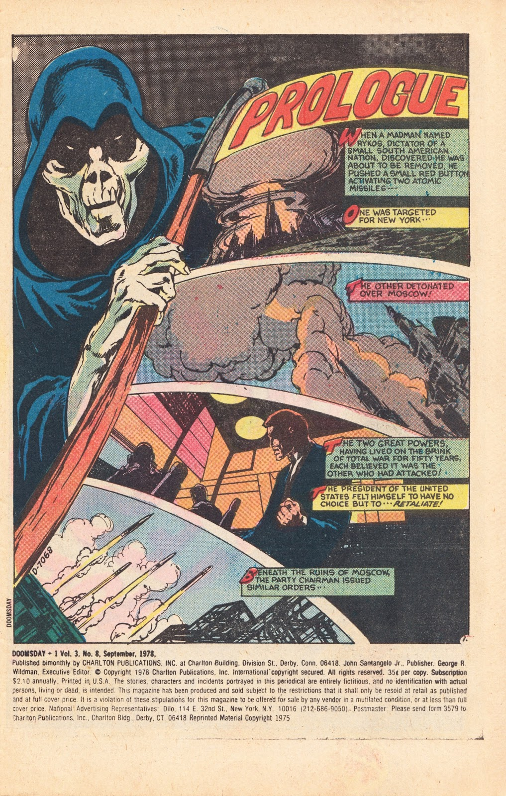Read online Doomsday   1 (1975) comic -  Issue #8 - 3