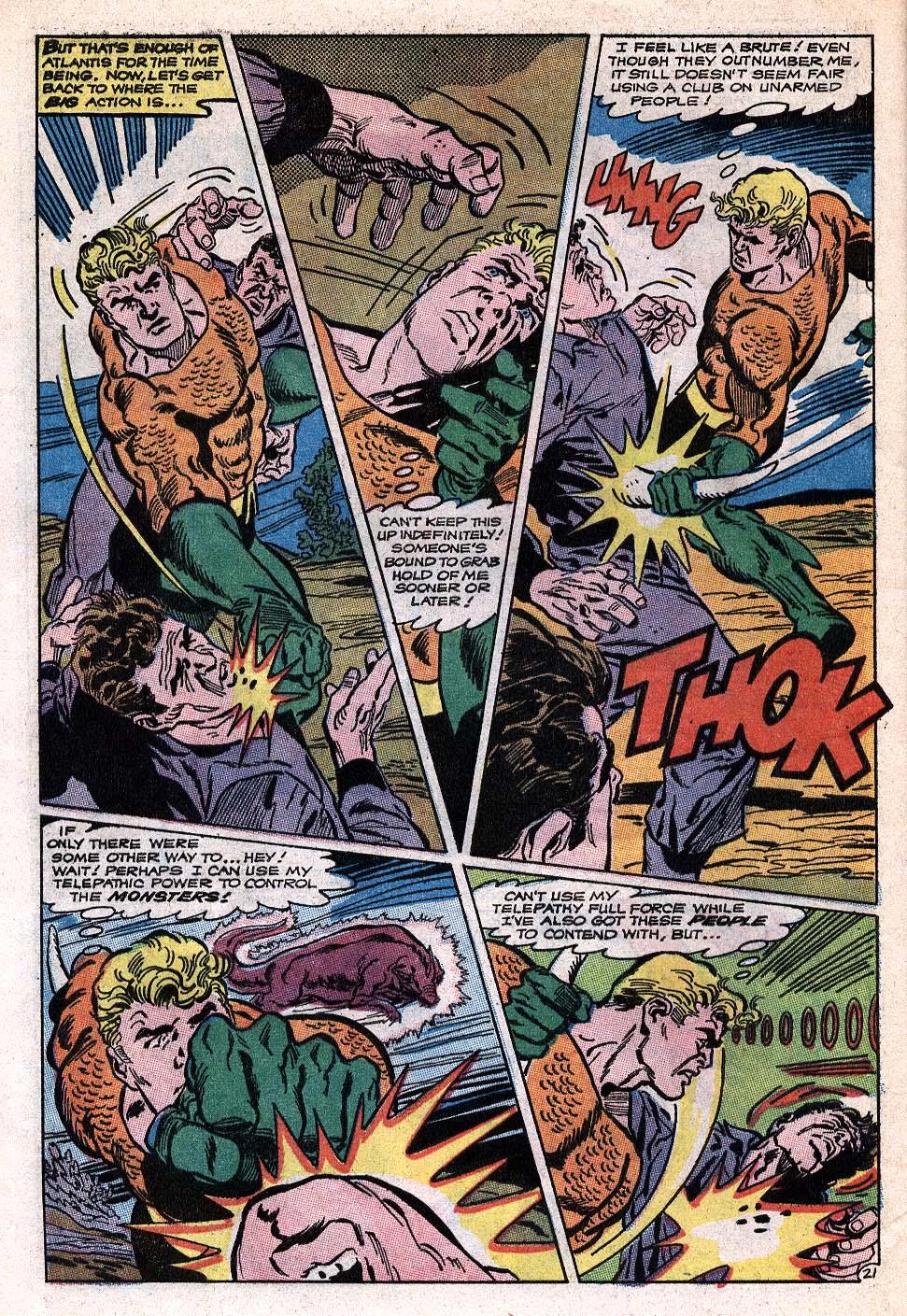 Read online Aquaman (1962) comic -  Issue #41 - 27