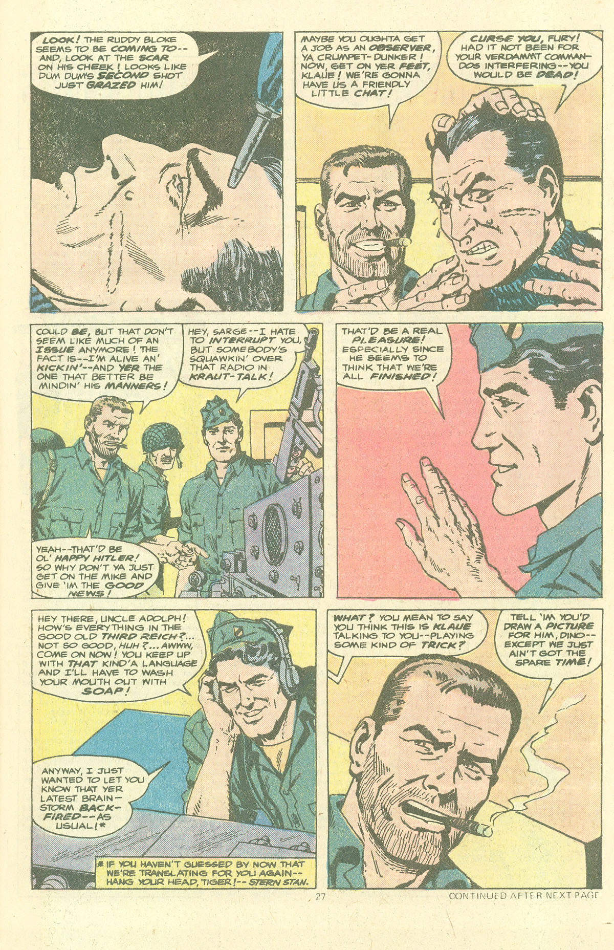 Read online Sgt. Fury comic -  Issue #143 - 29