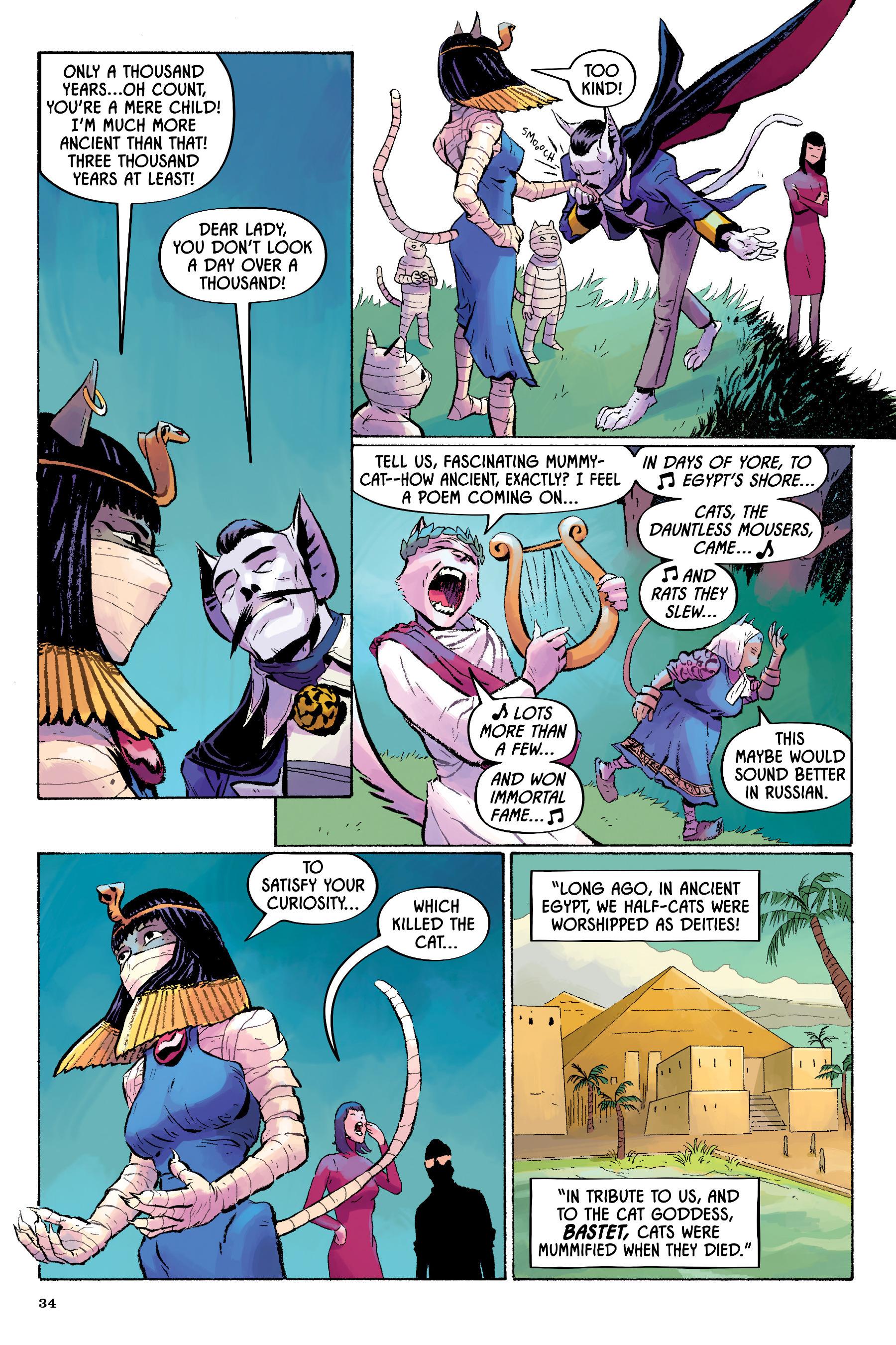 Read online Angel Catbird comic -  Issue # TPB 2 - 35