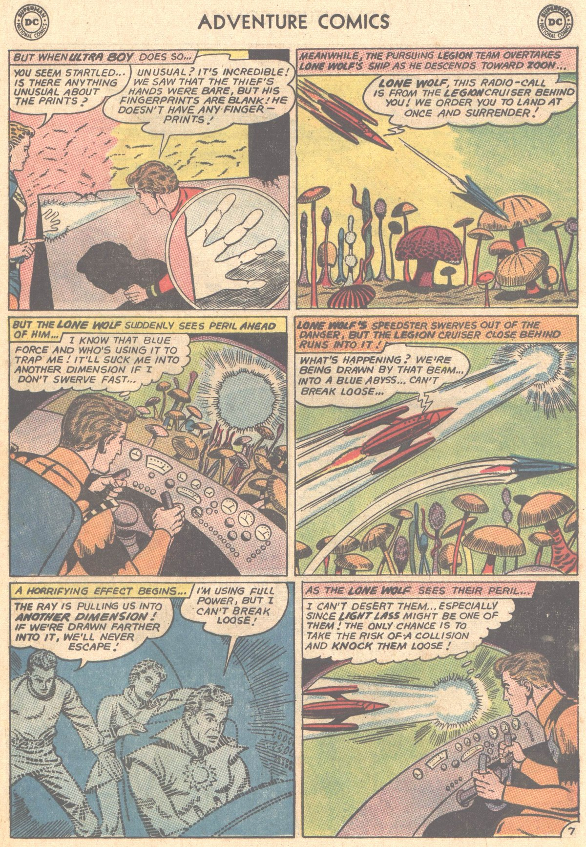 Read online Adventure Comics (1938) comic -  Issue #327 - 8