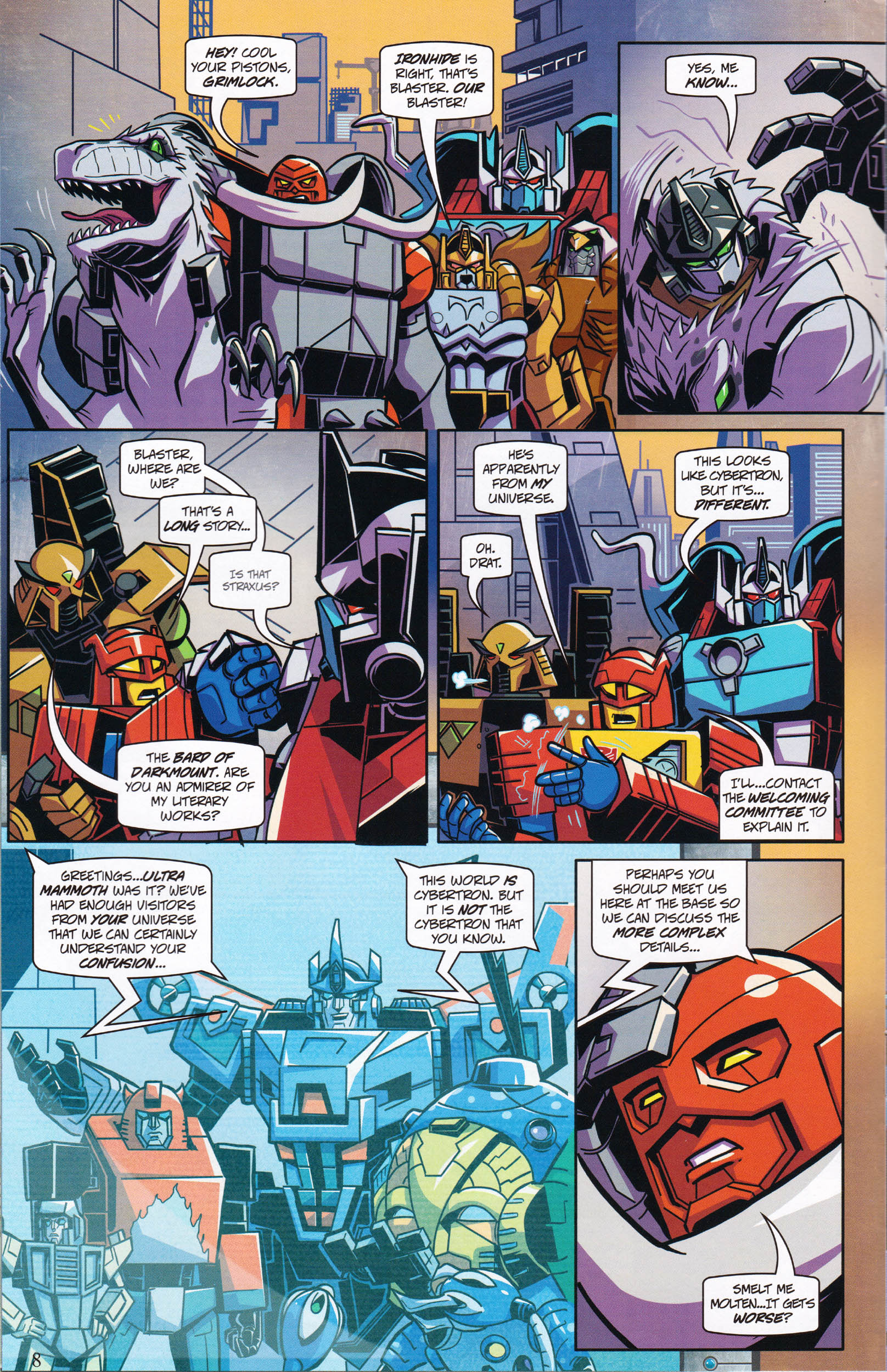 Read online Transformers: Collectors' Club comic -  Issue #61 - 8