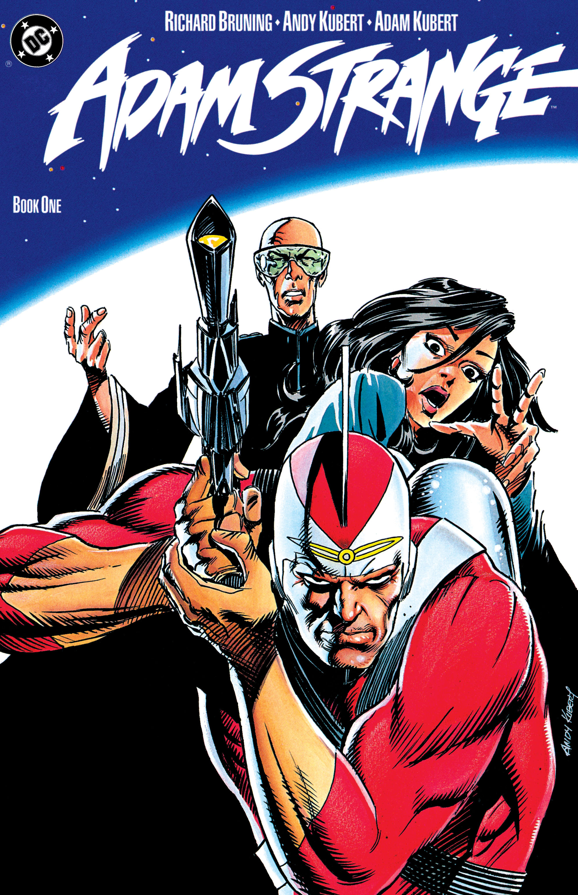 Read online Adam Strange (1990) comic -  Issue #1 - 1