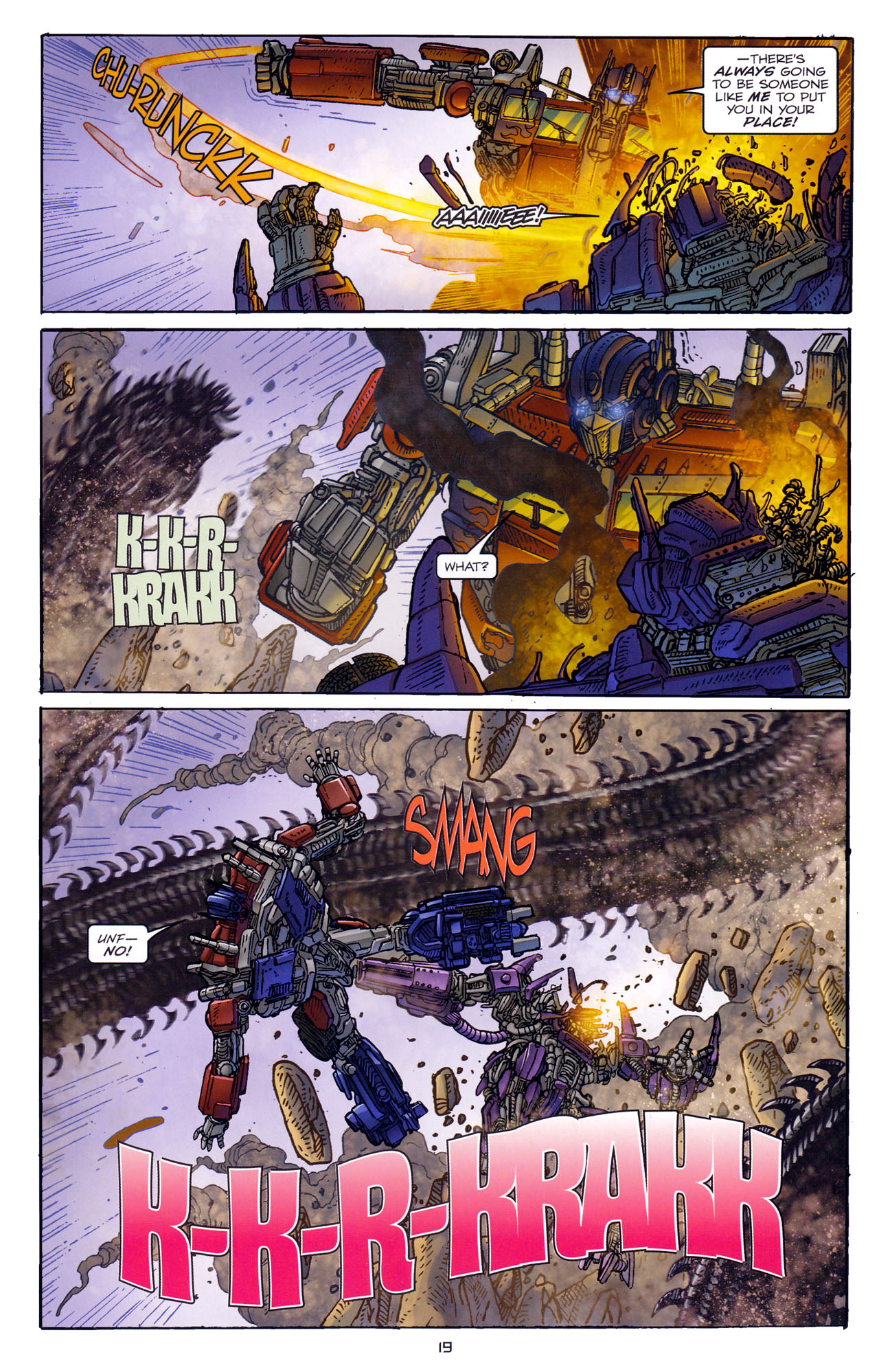 Read online Transformers: Dark of the Moon Rising Storm comic -  Issue #4 - 20