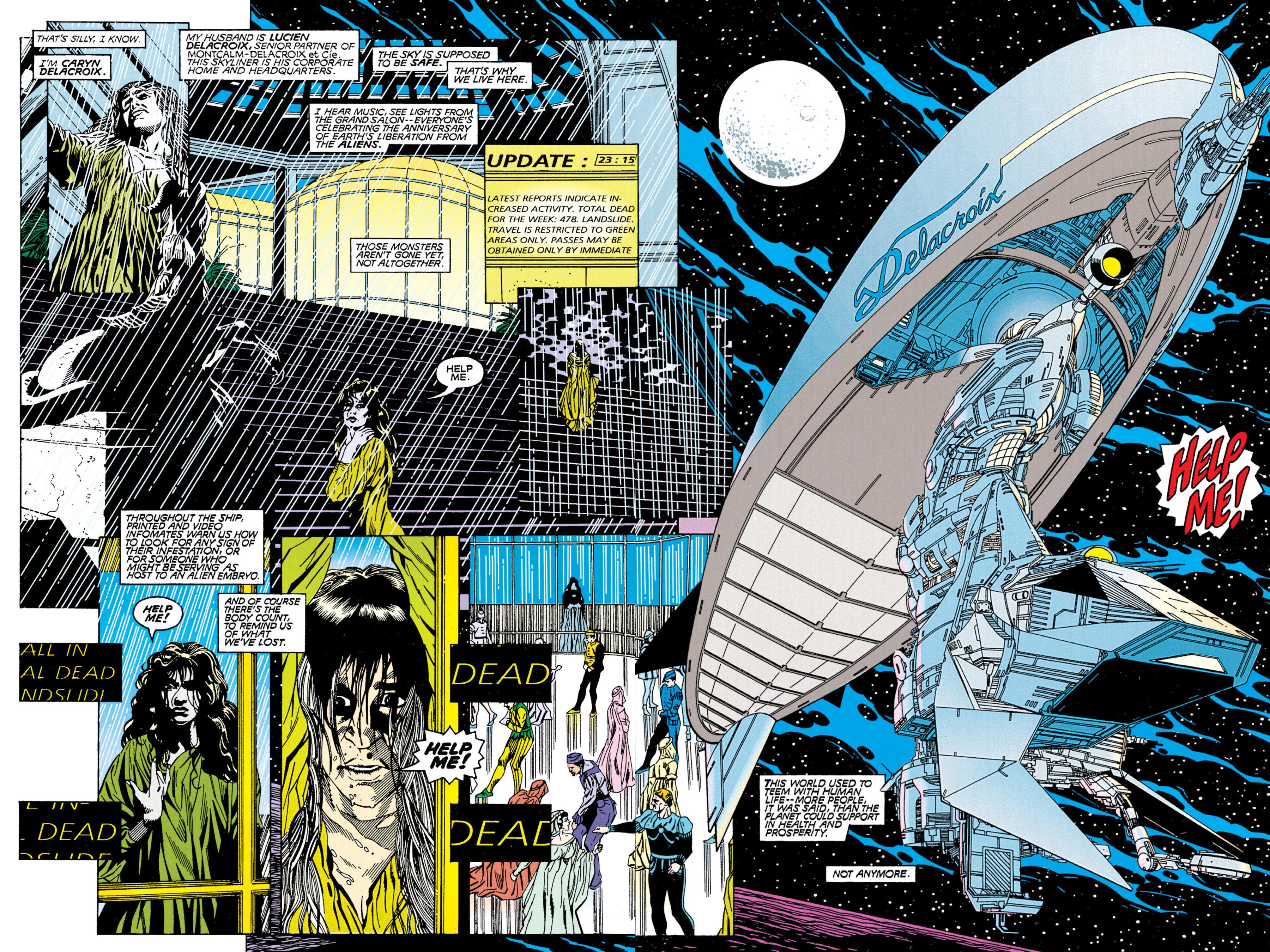 Read online Aliens vs. Predator Omnibus comic -  Issue # _TPB 2 Part 1 - 9