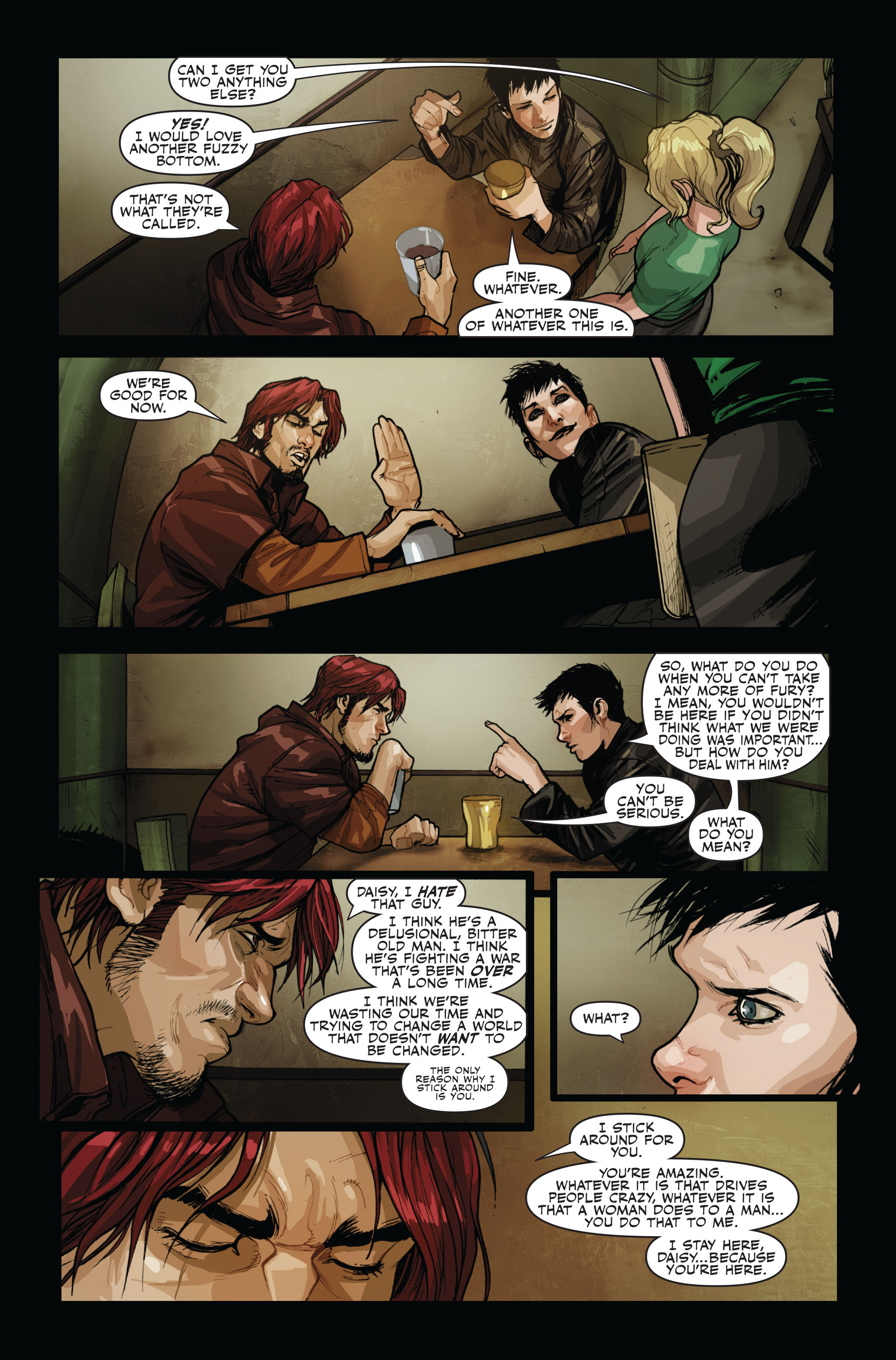 Read online Secret Warriors comic -  Issue #14 - 16