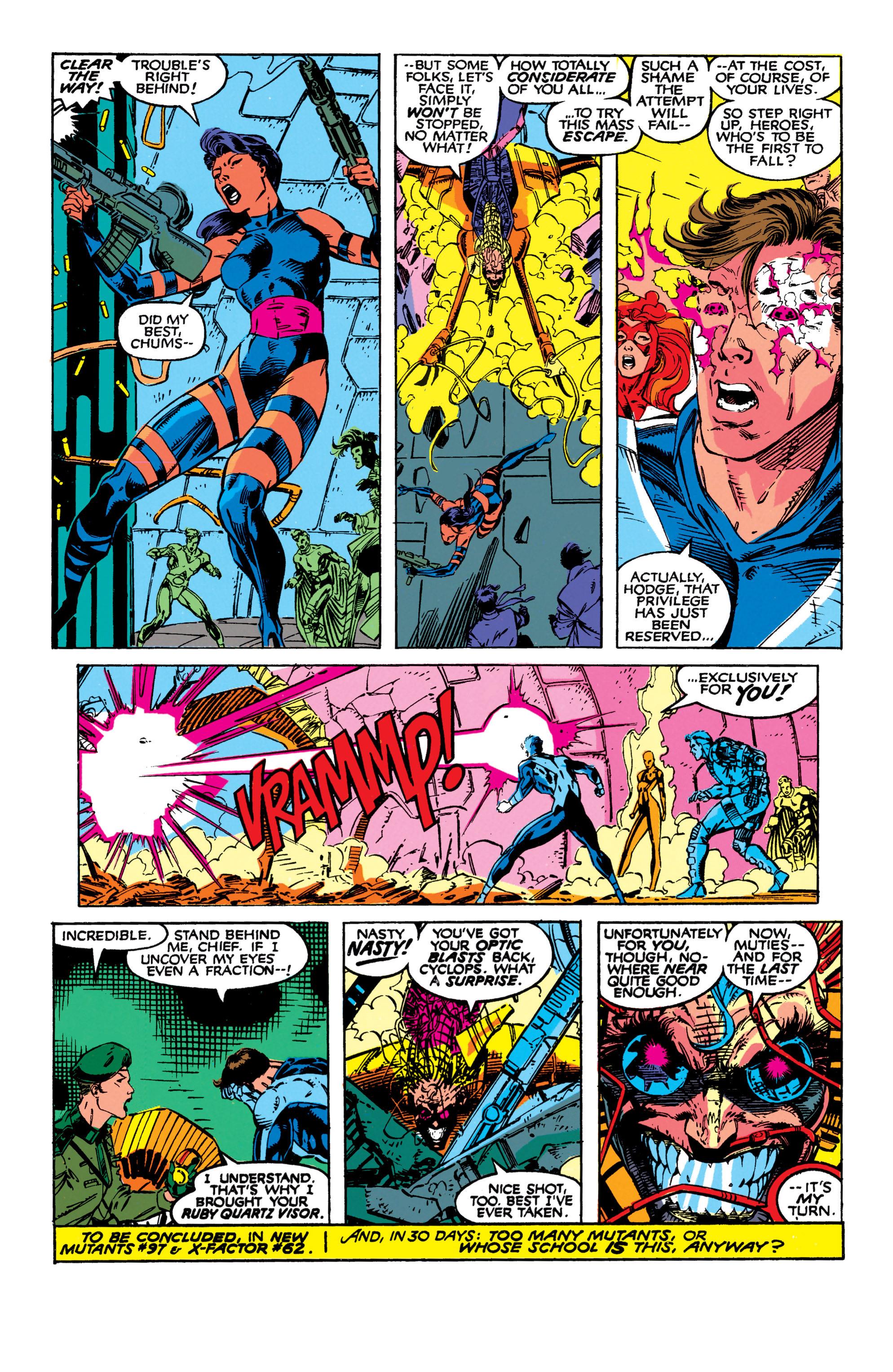 Read online Uncanny X-Men (1963) comic -  Issue #272 - 23