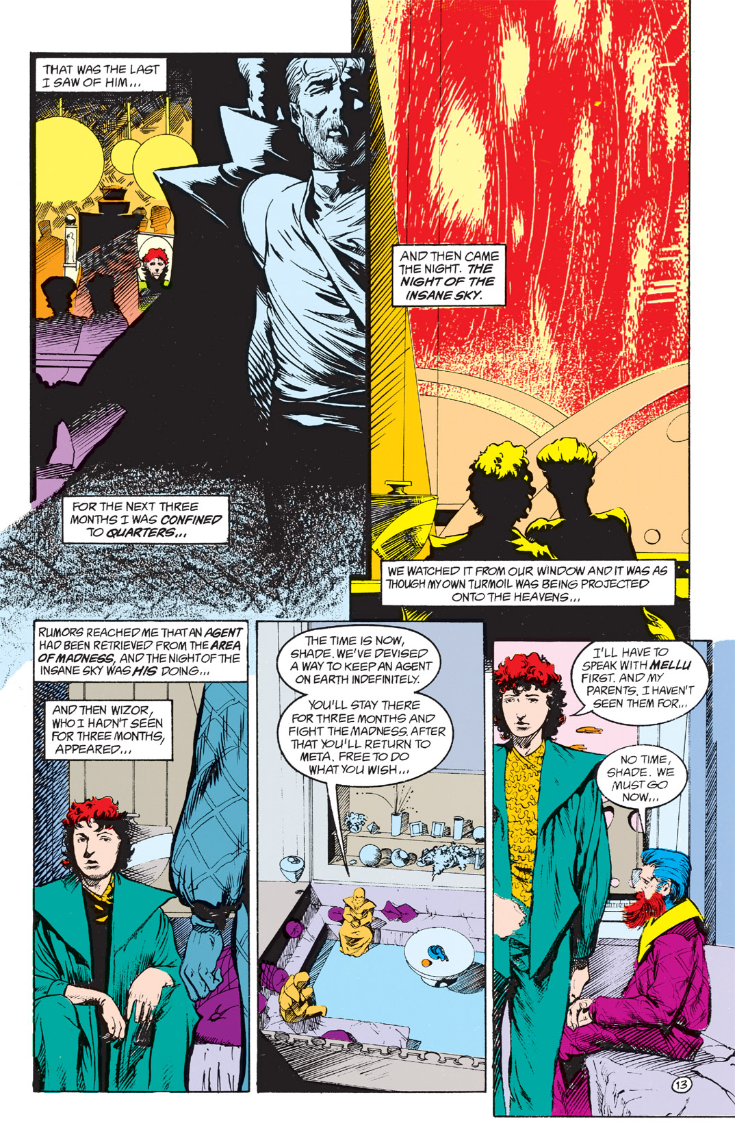 Read online Shade, the Changing Man comic -  Issue #4 - 15