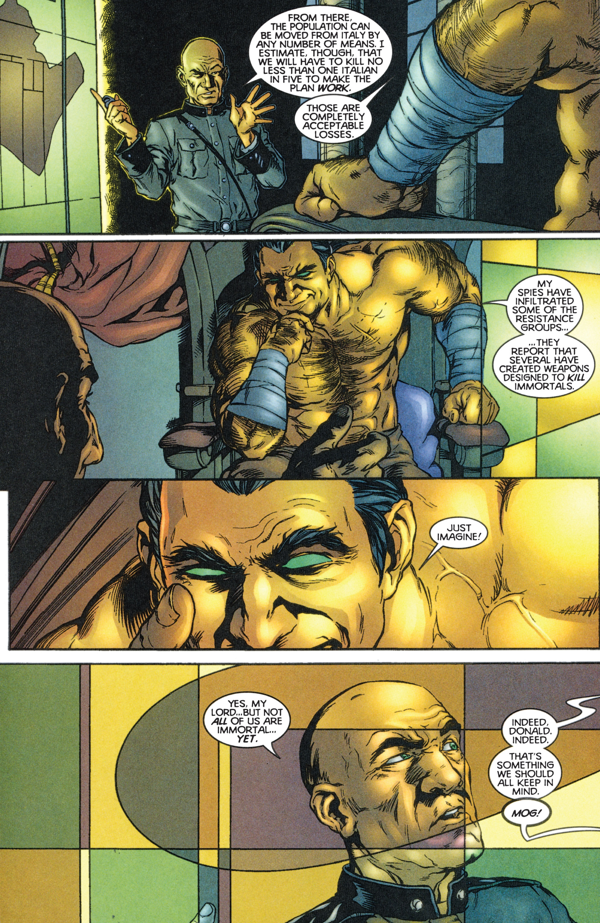 Read online Eternal Warriors comic -  Issue # Issue The Immortal Enemy - 24