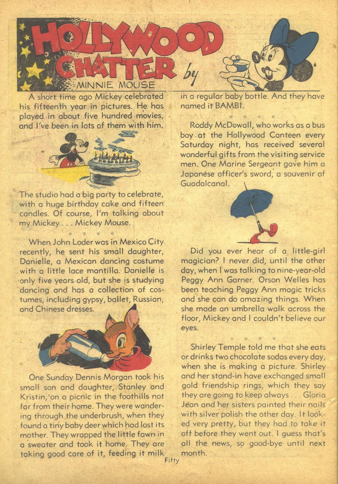 Walt Disney's Comics and Stories issue 41 - Page 52
