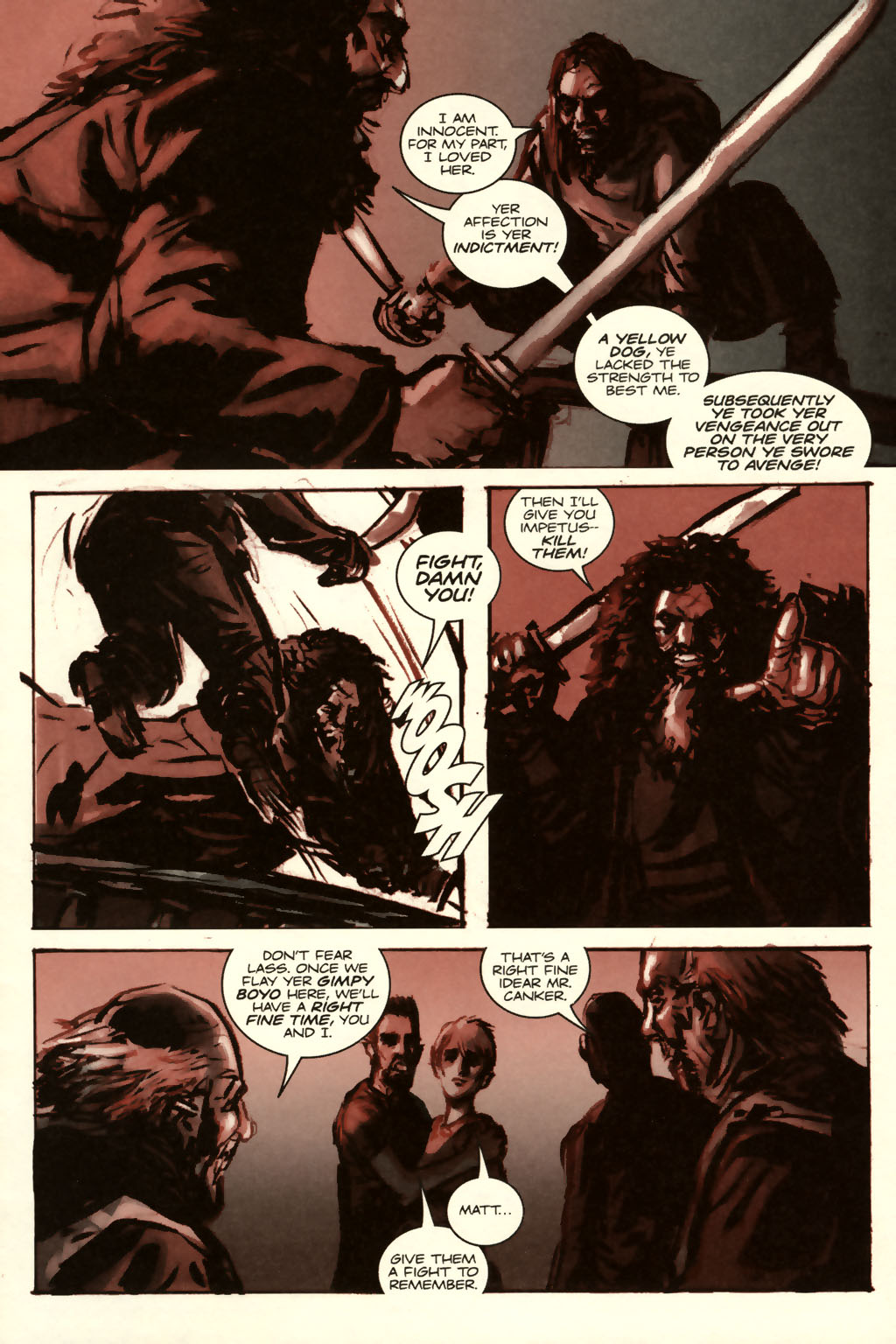 Read online Sea of Red comic -  Issue #8 - 13