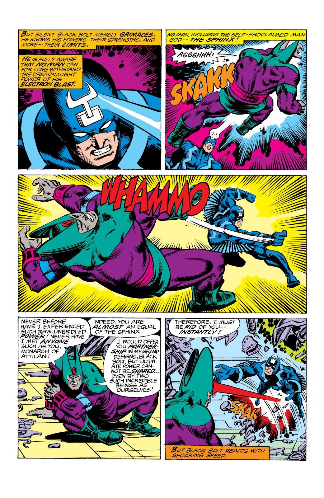 Read online Marvel Masterworks: The Inhumans comic -  Issue # TPB 2 (Part 3) - 77