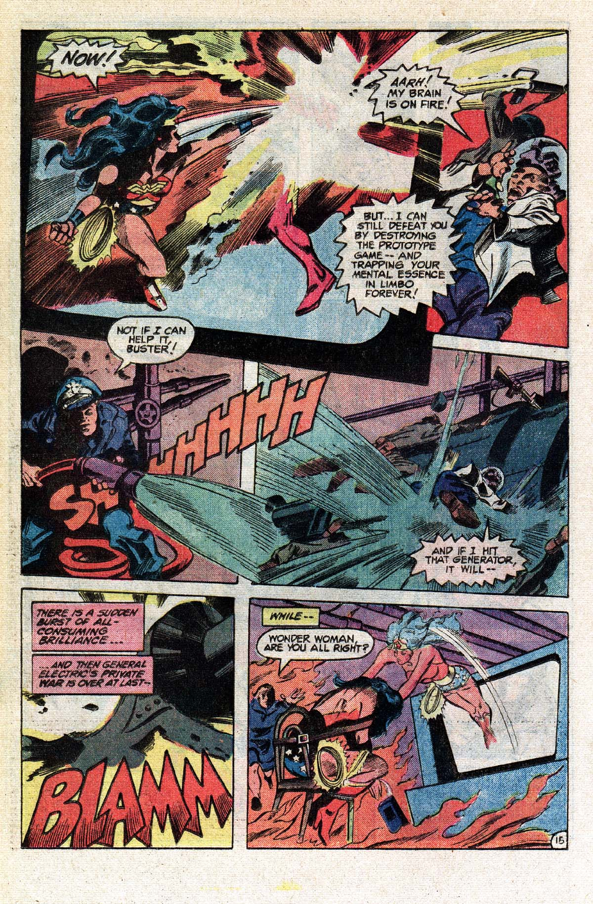 Read online Wonder Woman (1942) comic -  Issue #296 - 16