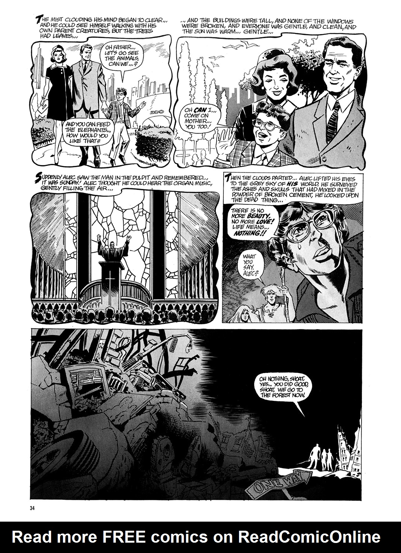 Read online Eerie Archives comic -  Issue # TPB 5 - 35