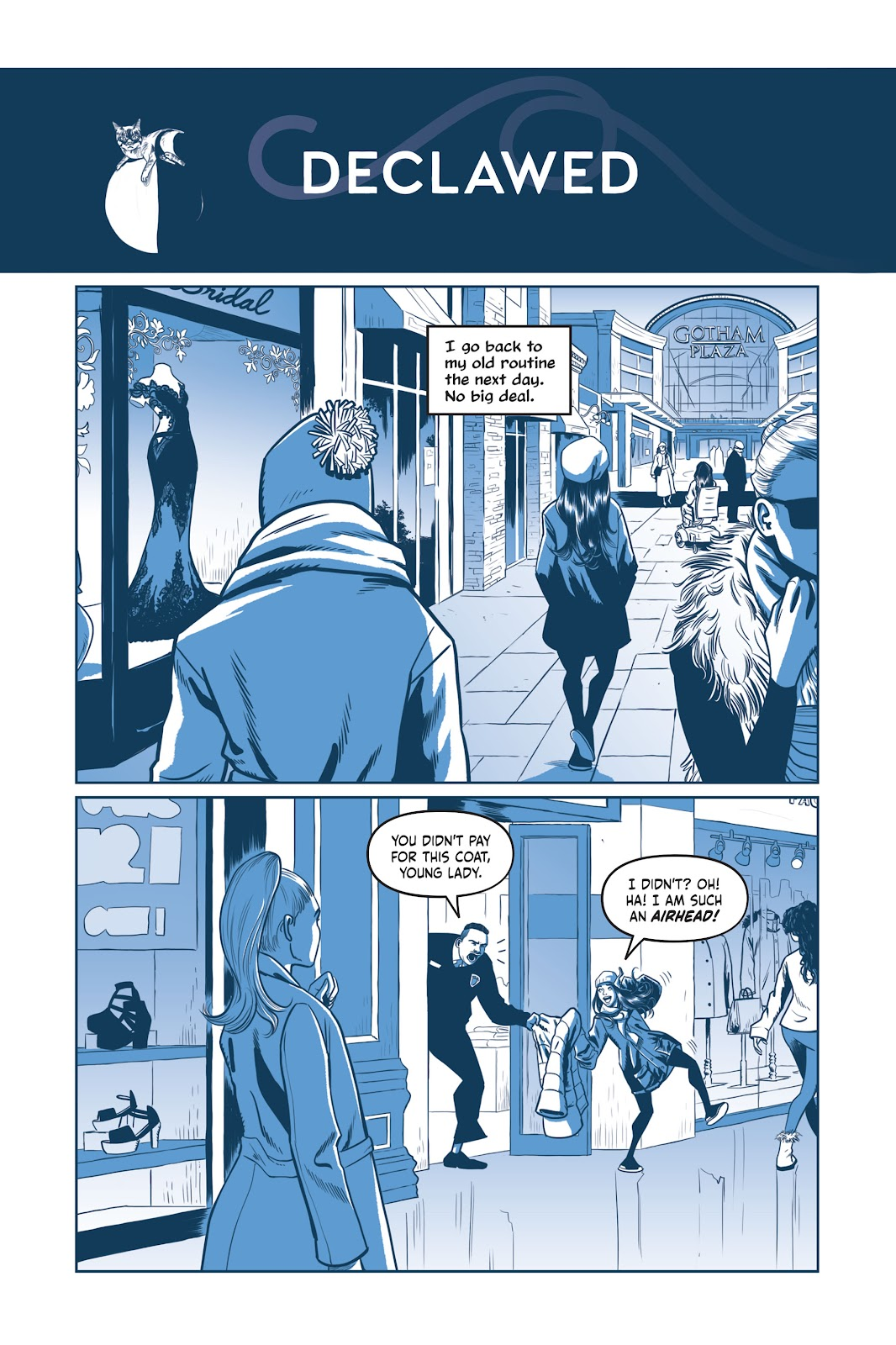 Read online Under the Moon: A Catwoman Tale comic -  Issue # TPB (Part 1) - 100
