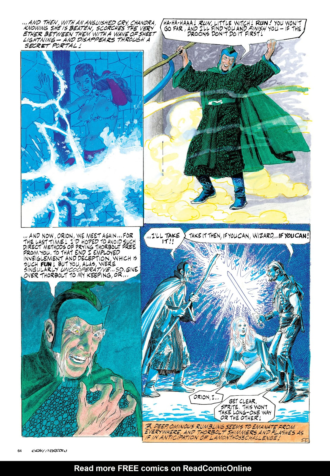 Read online Orion and Edge of Chaos comic -  Issue # TPB - 65