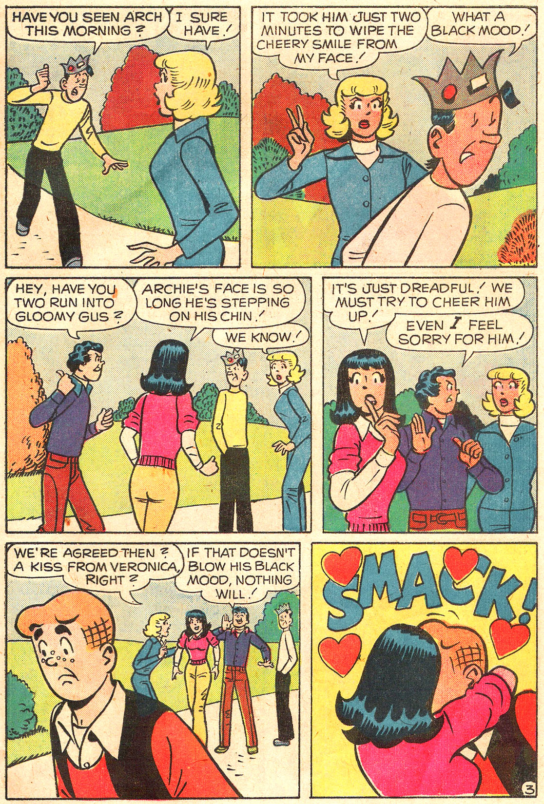 Read online Archie (1960) comic -  Issue #250 - 31